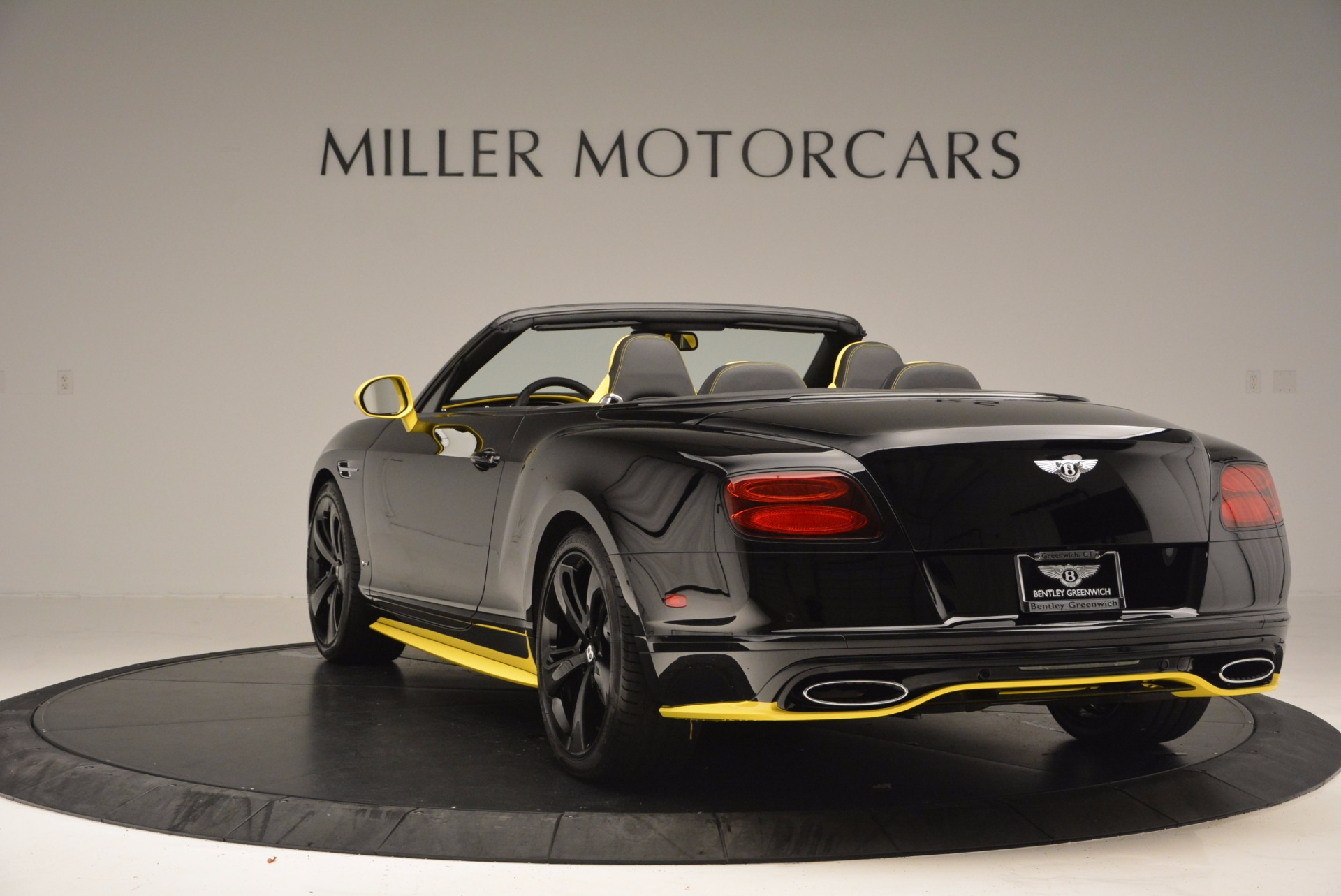 New 2017 Bentley Continental GT Speed Black Edition Convertible  For Sale In Greenwich, CT 496_p5