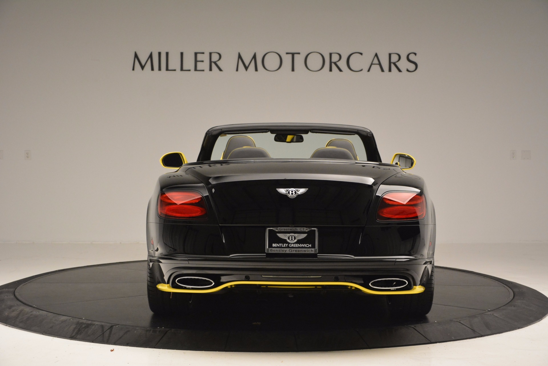 New 2017 Bentley Continental GT Speed Black Edition Convertible  For Sale In Greenwich, CT 496_p6