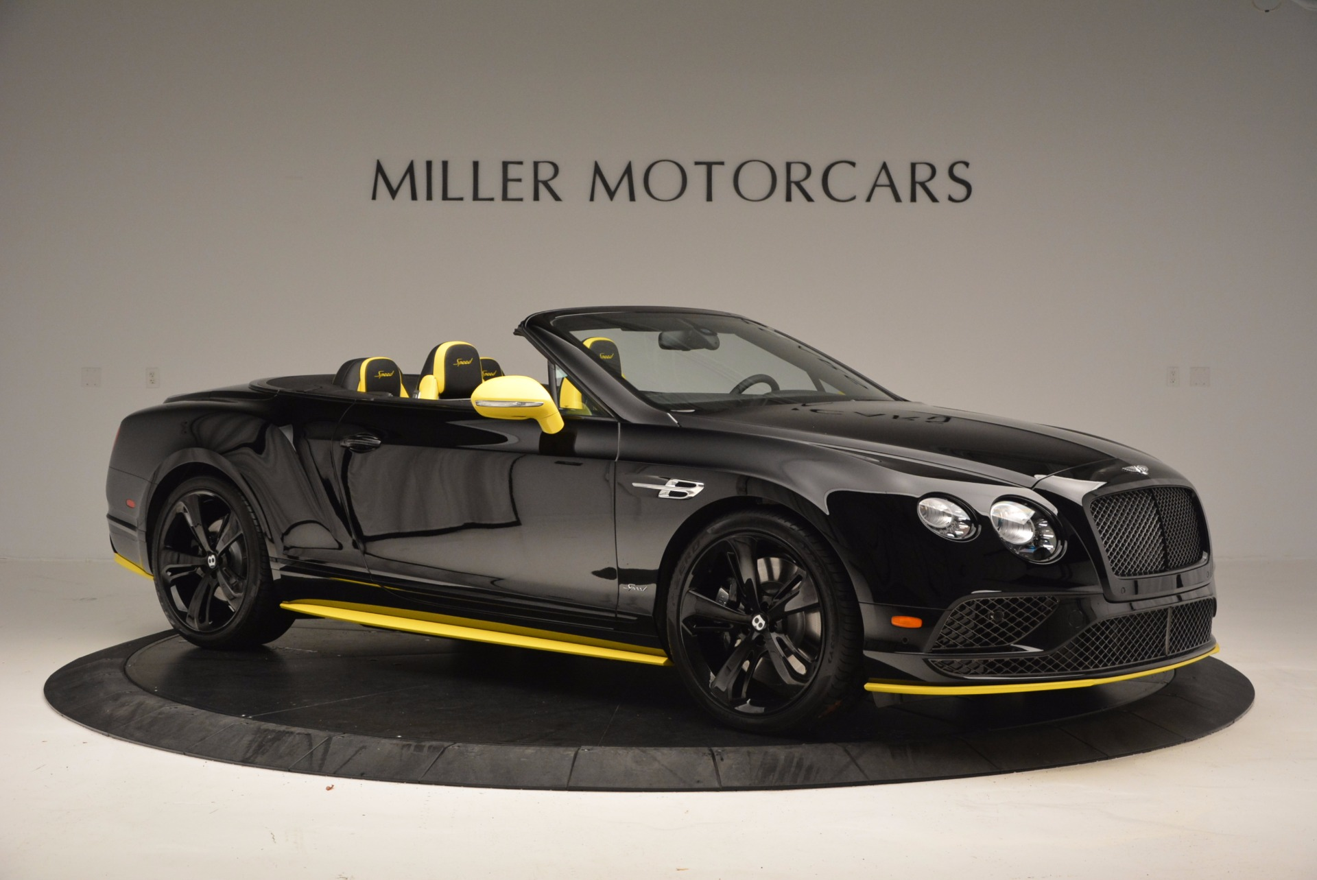 New 2017 Bentley Continental GT Speed Black Edition Convertible  For Sale In Greenwich, CT 496_p7