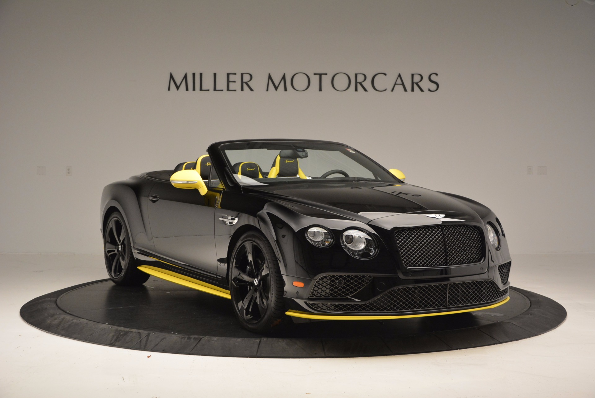 New 2017 Bentley Continental GT Speed Black Edition Convertible  For Sale In Greenwich, CT 496_p8