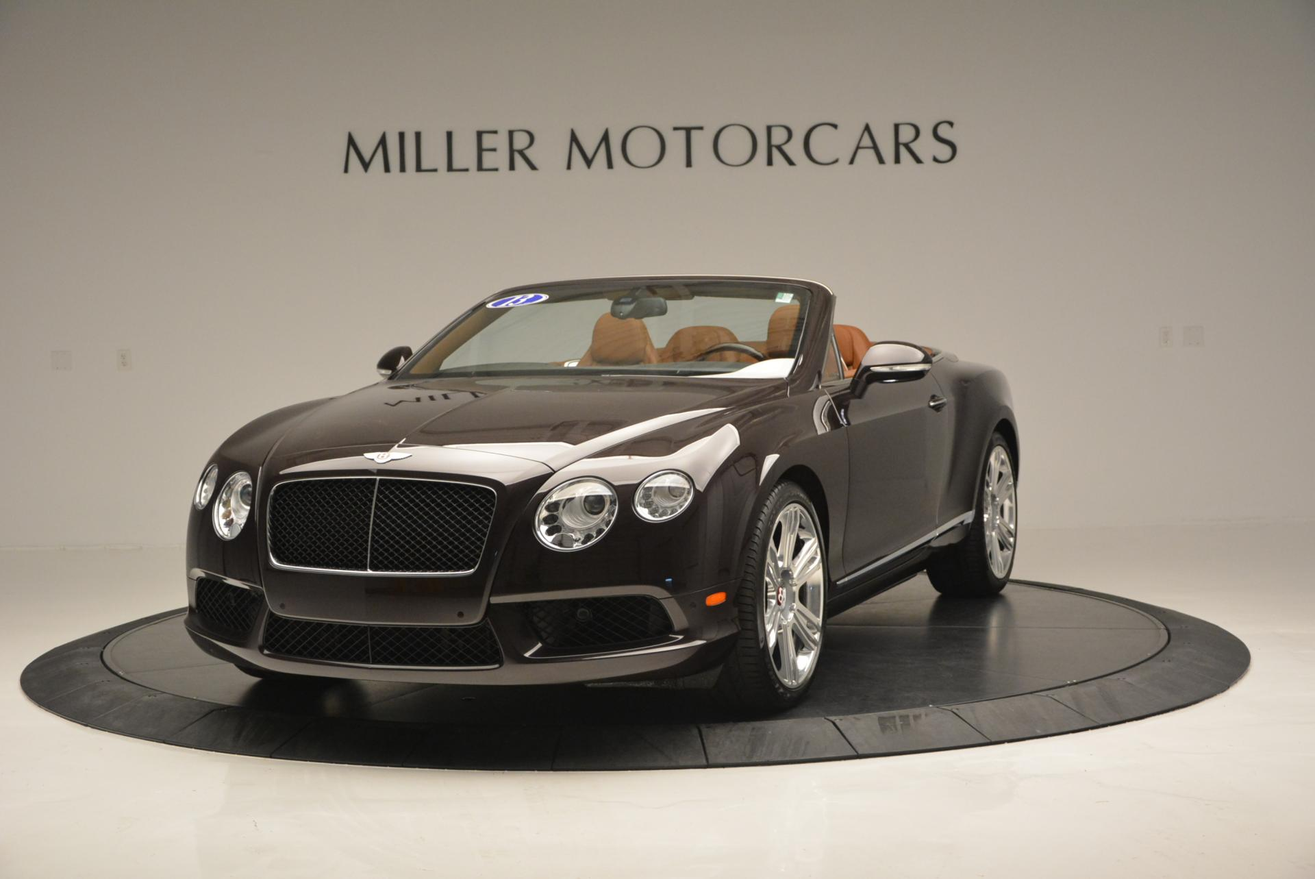 Used 2013 Bentley Continental GTC V8  For Sale In Greenwich, CT 498_main