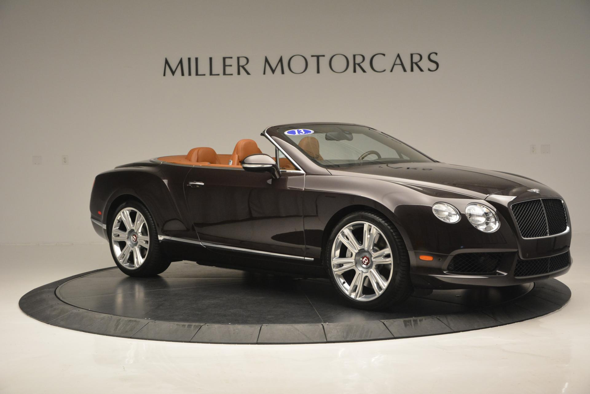 Used 2013 Bentley Continental GTC V8  For Sale In Greenwich, CT 498_p10
