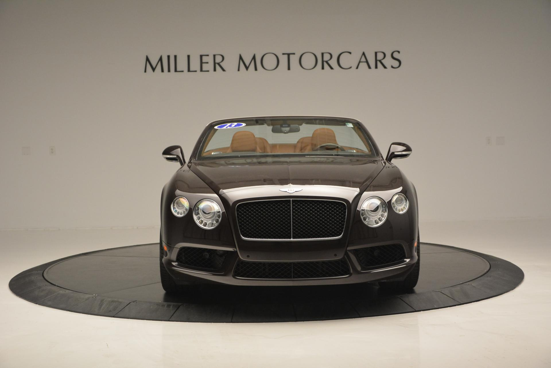 Used 2013 Bentley Continental GTC V8  For Sale In Greenwich, CT 498_p12
