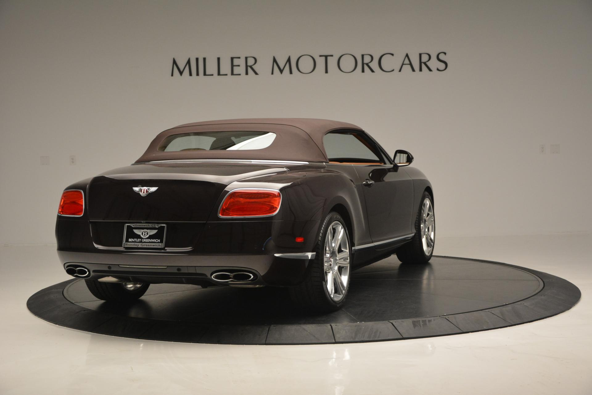 Used 2013 Bentley Continental GTC V8  For Sale In Greenwich, CT 498_p20