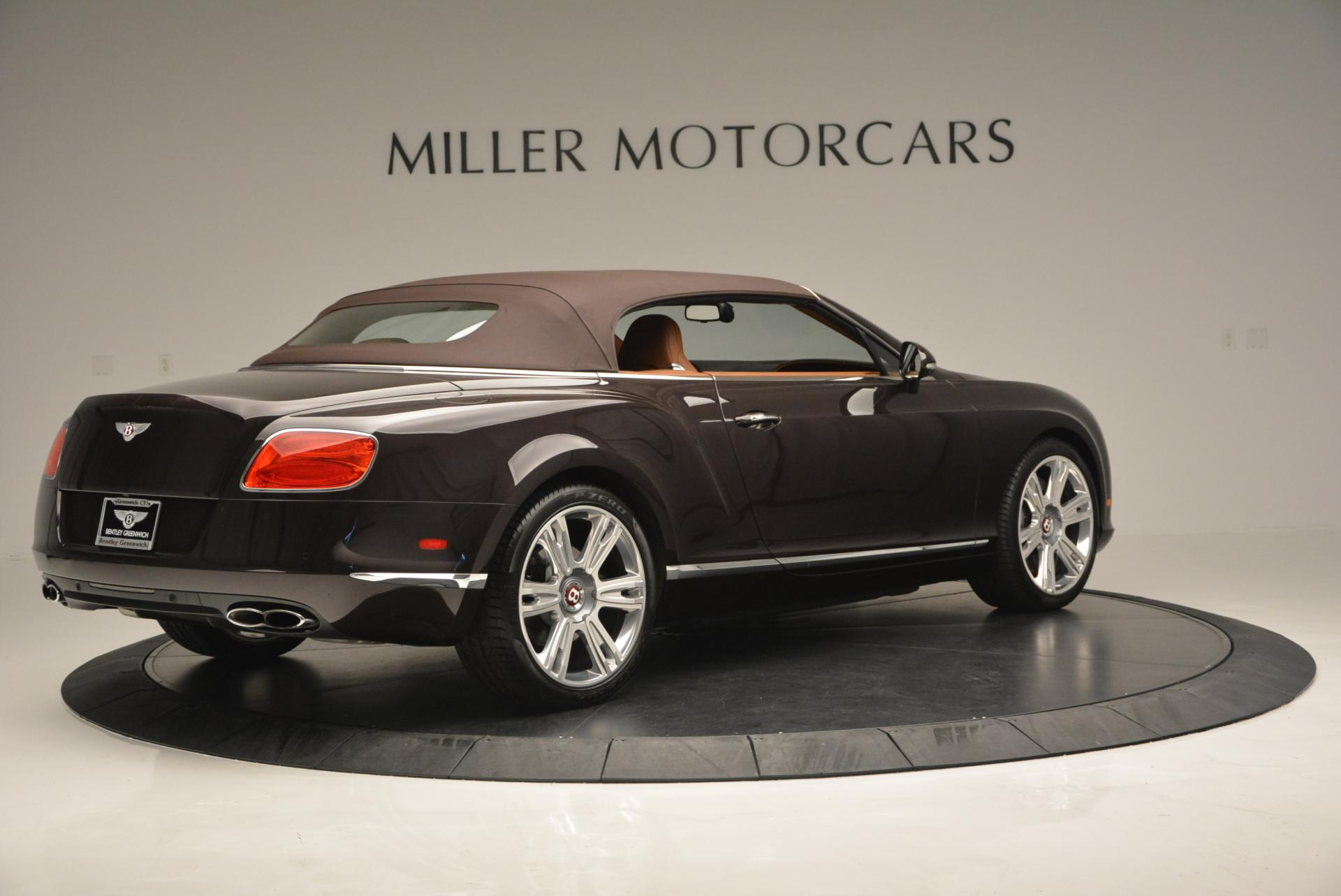 Used 2013 Bentley Continental GTC V8  For Sale In Greenwich, CT 498_p21