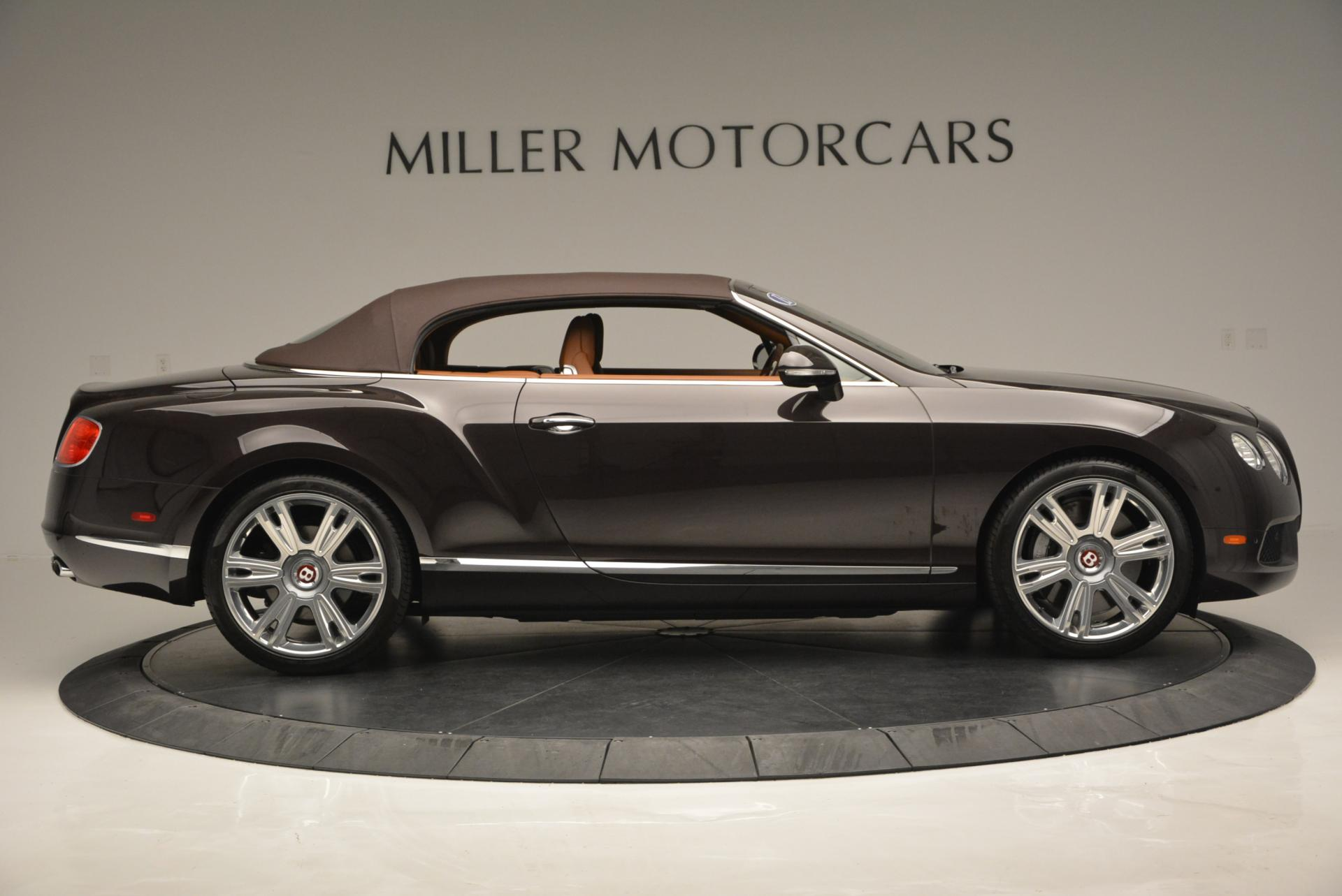 Used 2013 Bentley Continental GTC V8  For Sale In Greenwich, CT 498_p22