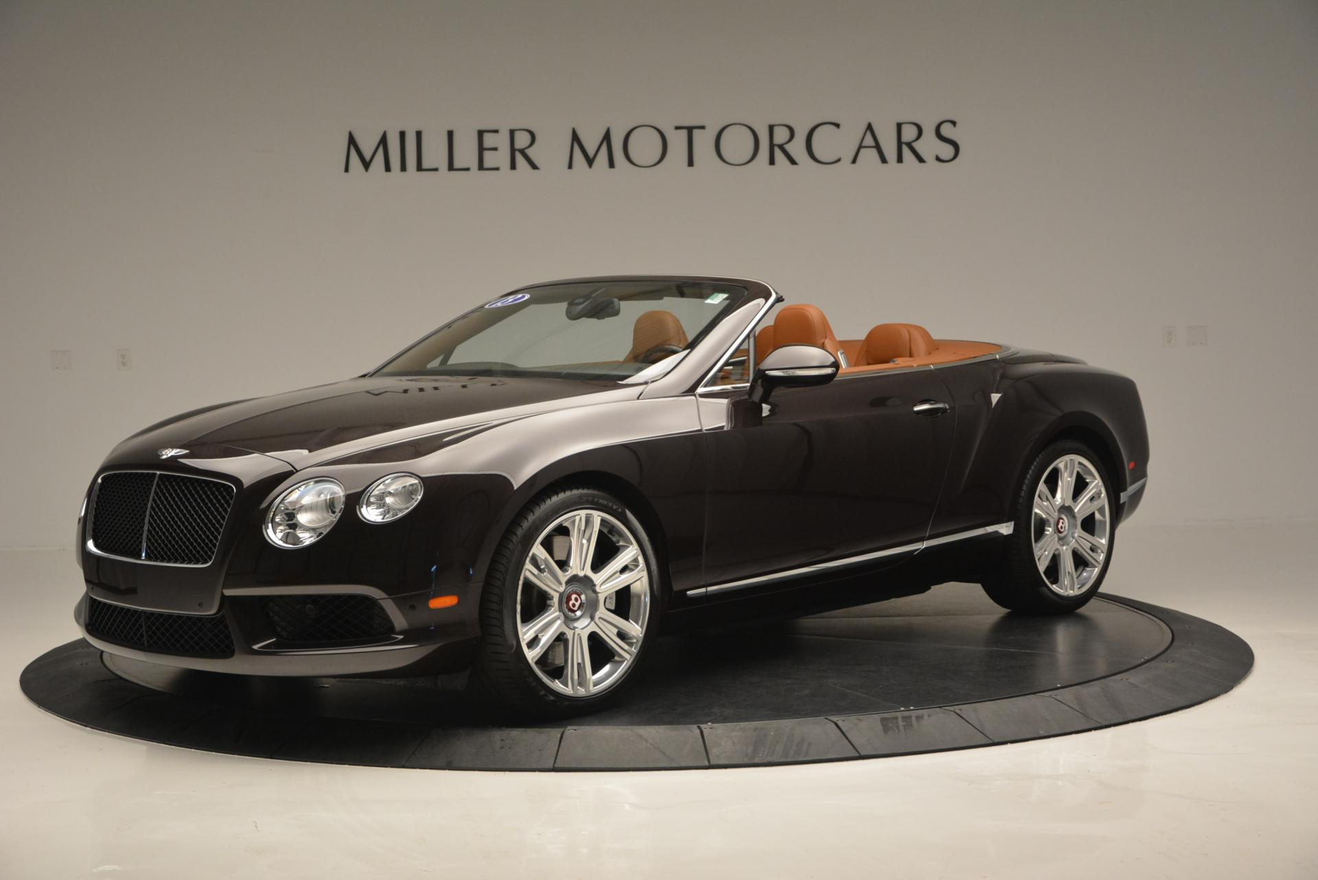 Used 2013 Bentley Continental GTC V8  For Sale In Greenwich, CT 498_p2