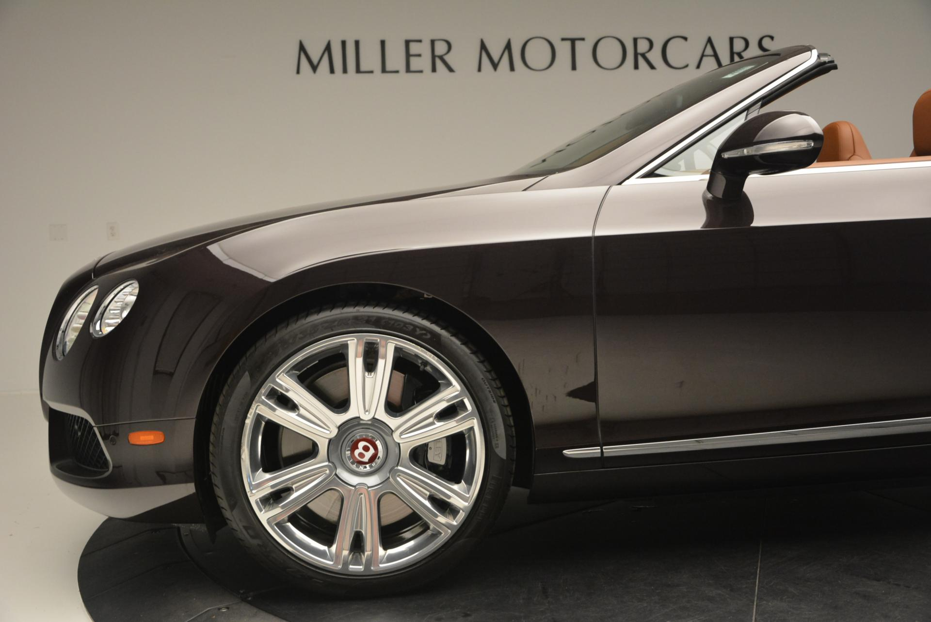 Used 2013 Bentley Continental GTC V8  For Sale In Greenwich, CT 498_p30