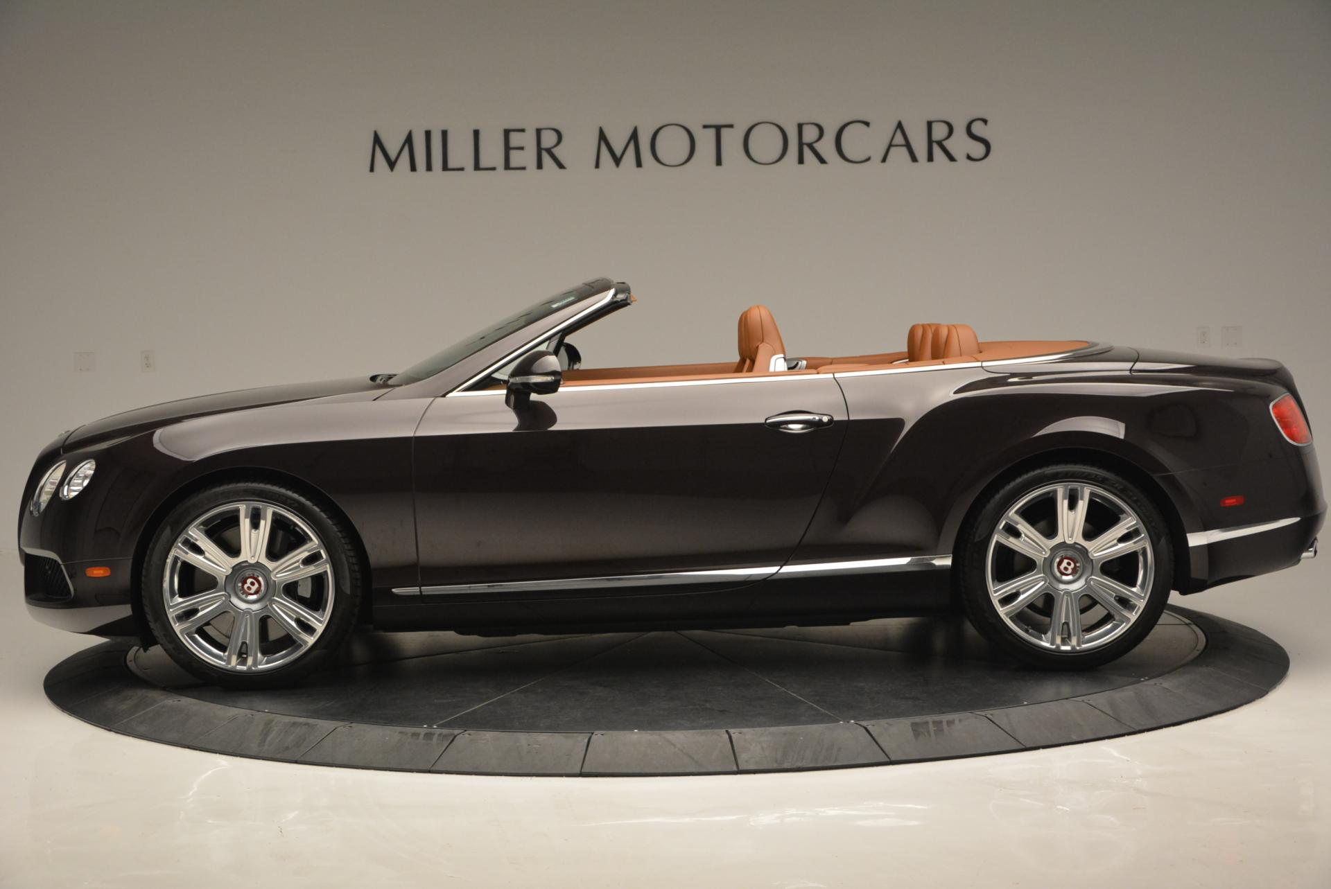 Used 2013 Bentley Continental GTC V8  For Sale In Greenwich, CT 498_p3