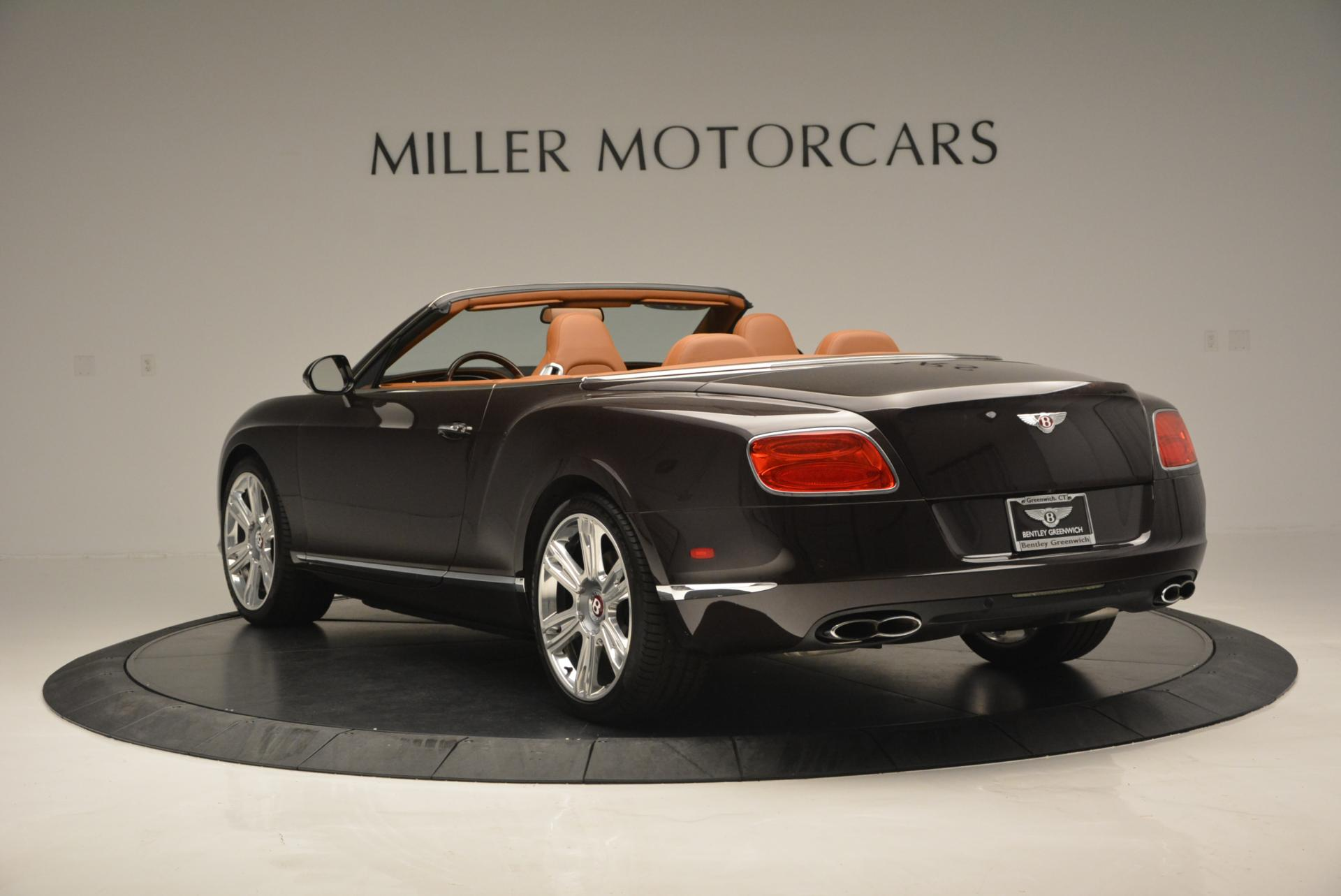 Used 2013 Bentley Continental GTC V8  For Sale In Greenwich, CT 498_p5