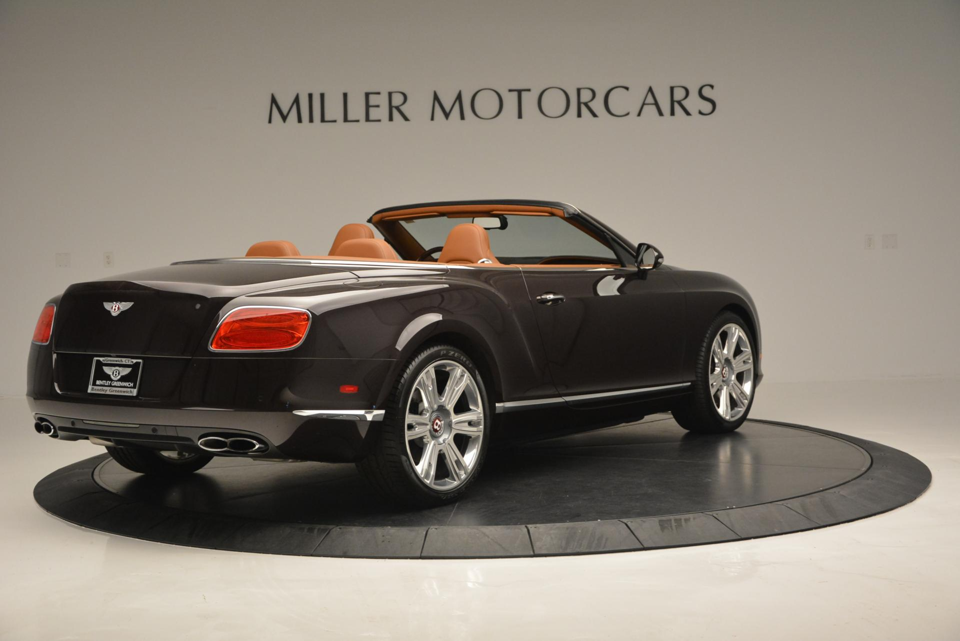Used 2013 Bentley Continental GTC V8  For Sale In Greenwich, CT 498_p8