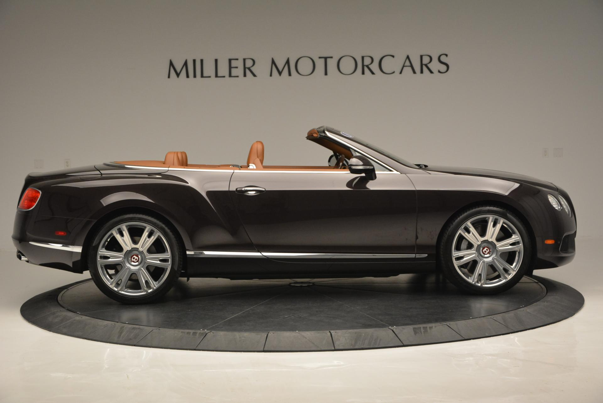 Used 2013 Bentley Continental GTC V8  For Sale In Greenwich, CT 498_p9