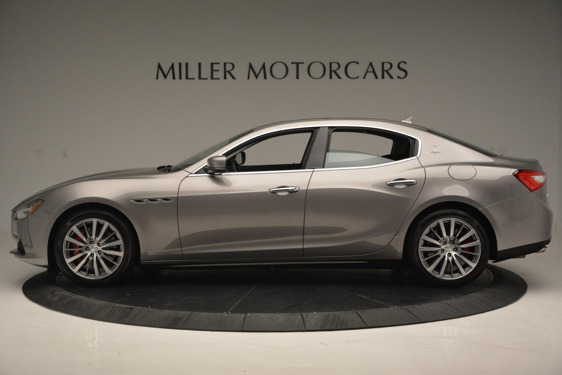 New 2016 Maserati Ghibli S Q4 For Sale In Greenwich, CT 51_p3