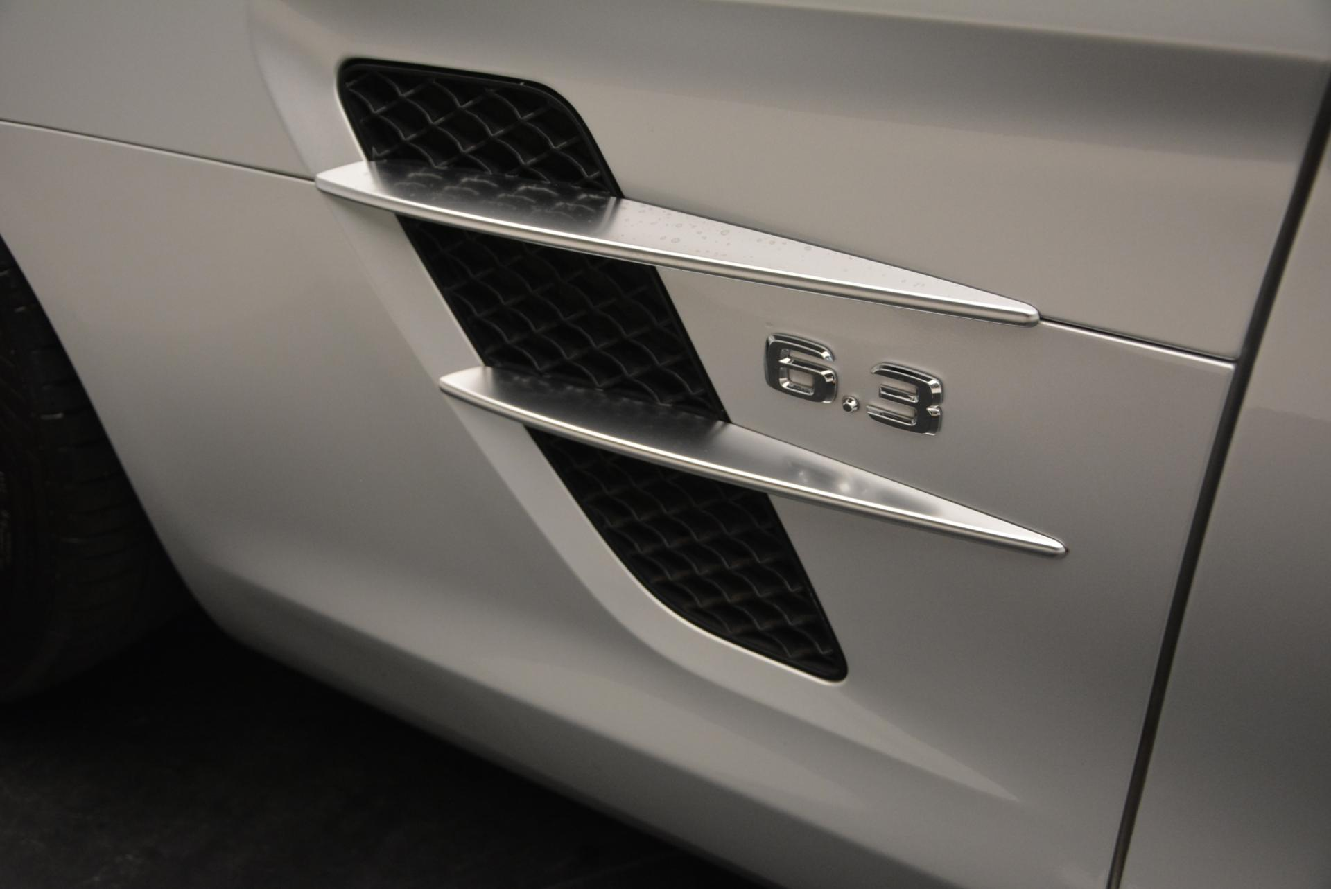 Used 2012 Mercedes Benz SLS AMG  For Sale In Greenwich, CT 517_p38