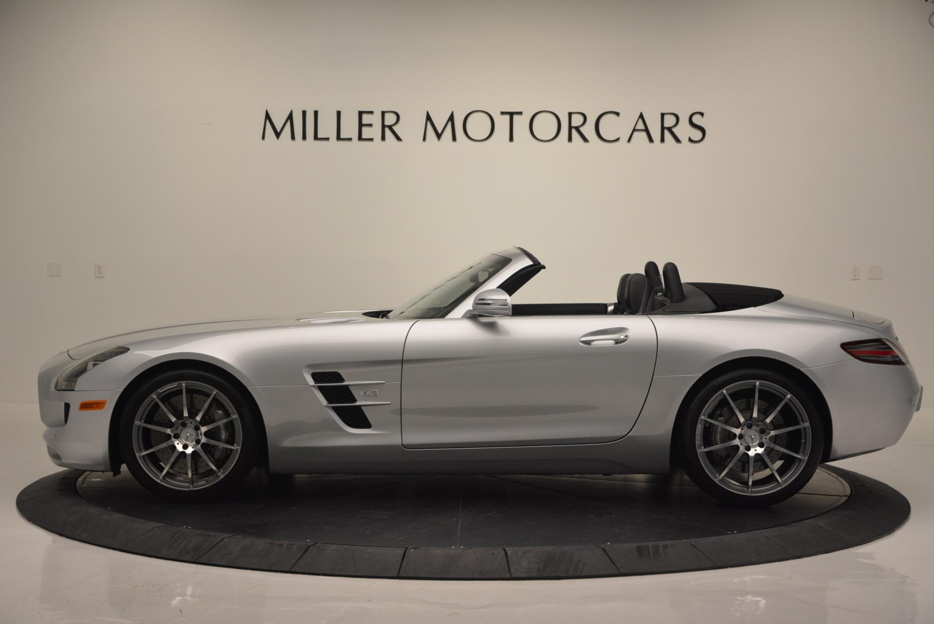 Used 2012 Mercedes Benz SLS AMG  For Sale In Greenwich, CT 517_p3
