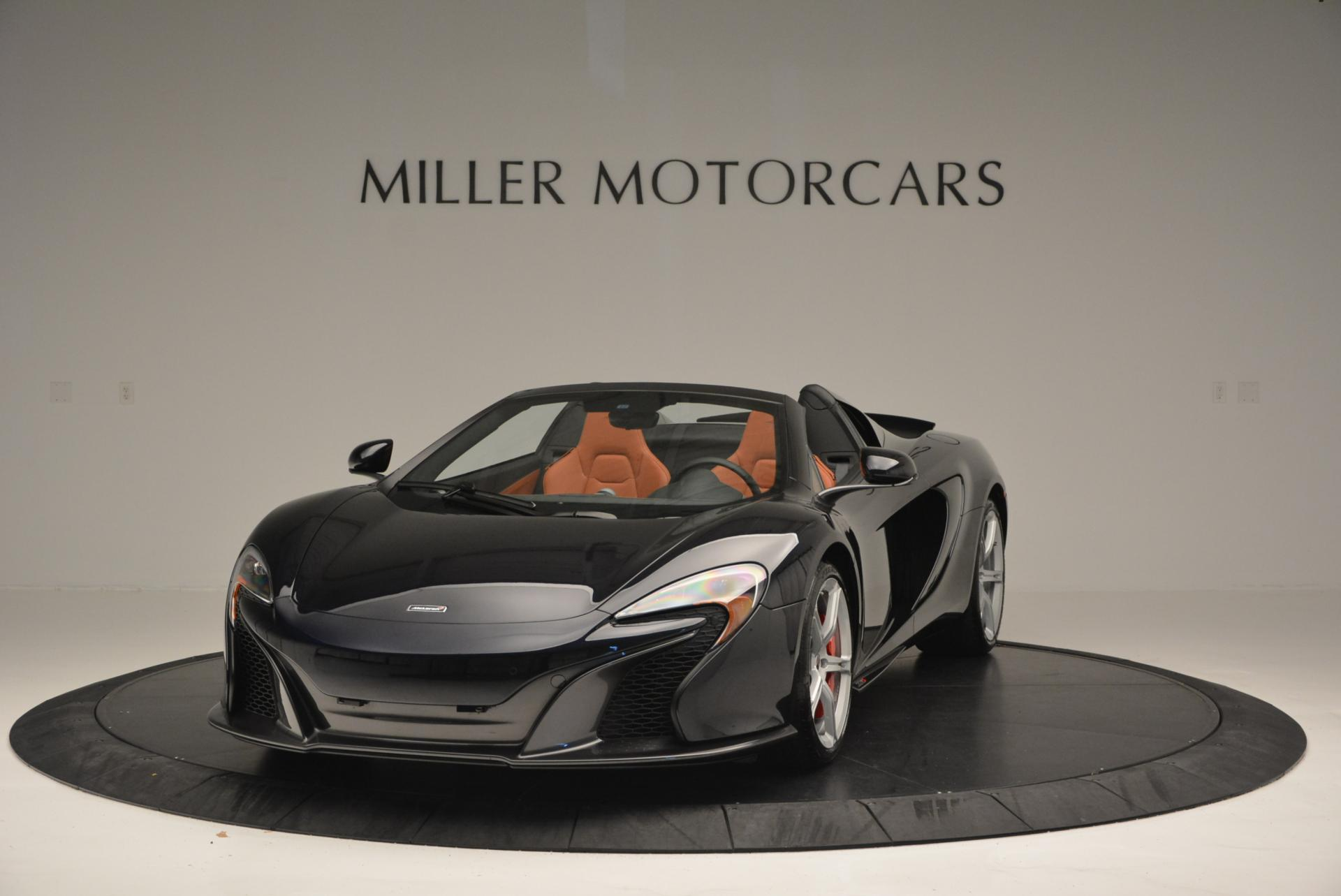 Used 2015 McLaren 650S Spider  For Sale In Greenwich, CT 518_main