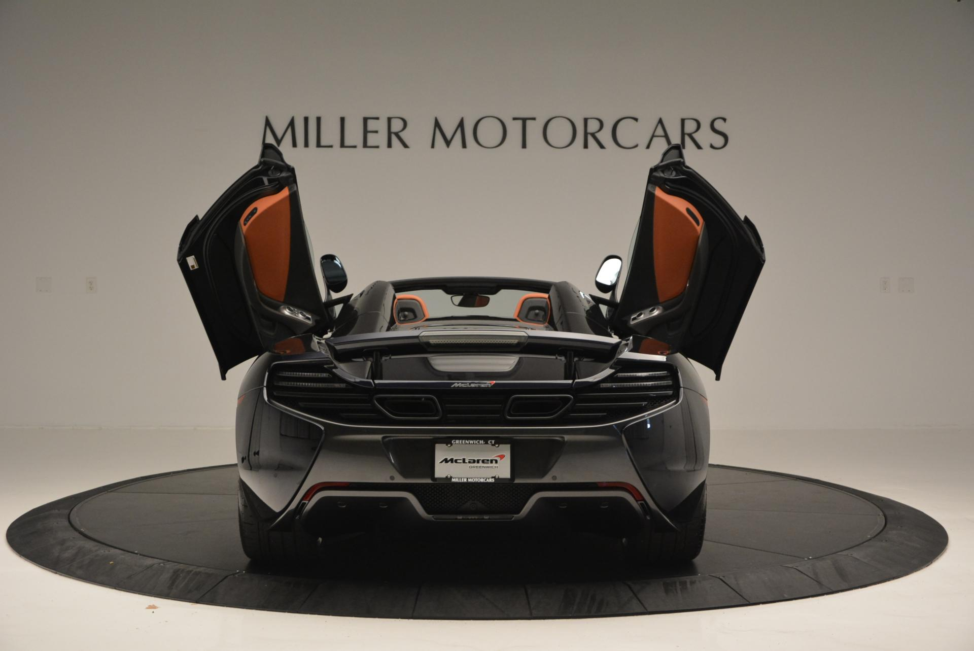 Used 2015 McLaren 650S Spider  For Sale In Greenwich, CT 518_p14