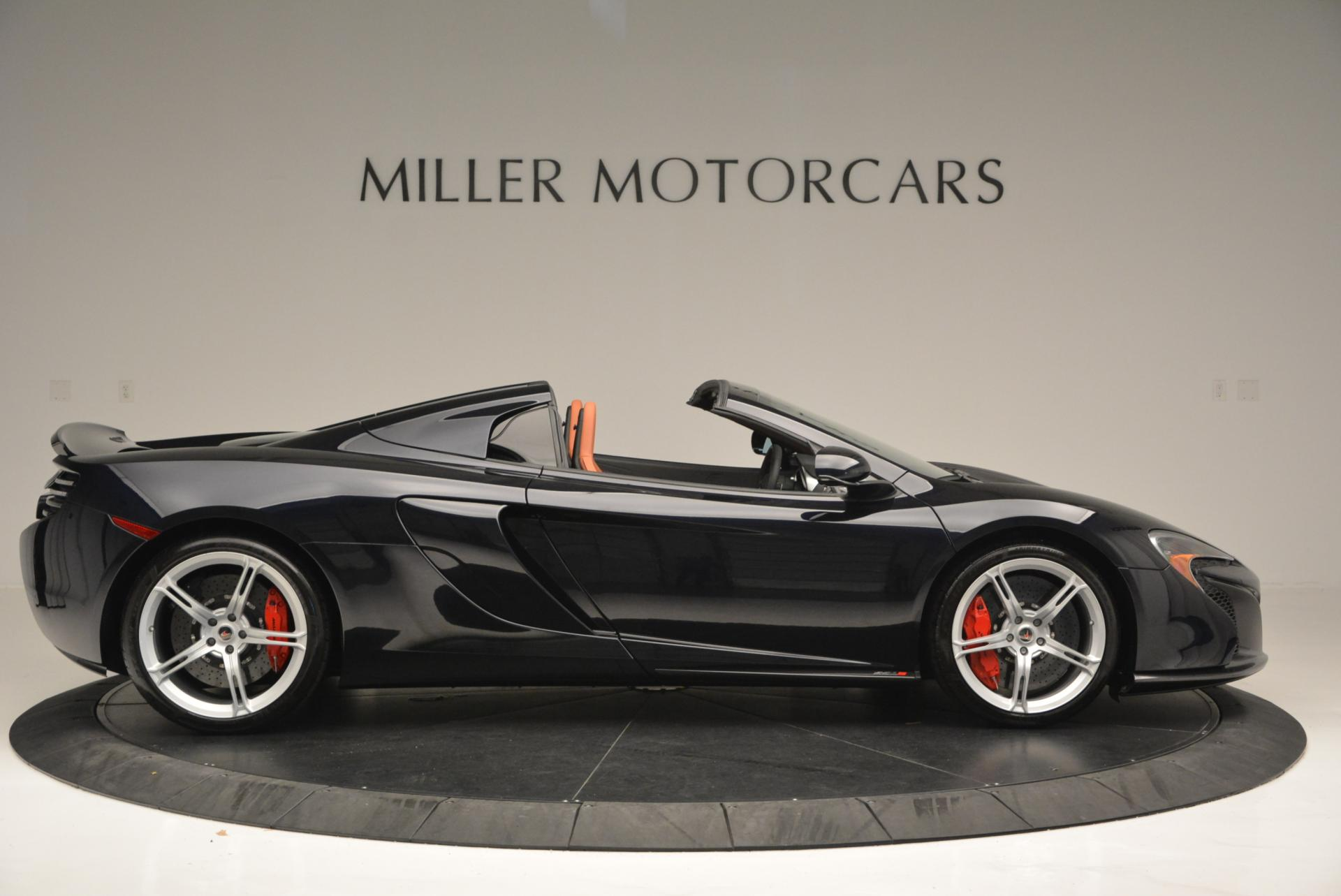 Used 2015 McLaren 650S Spider  For Sale In Greenwich, CT 518_p9