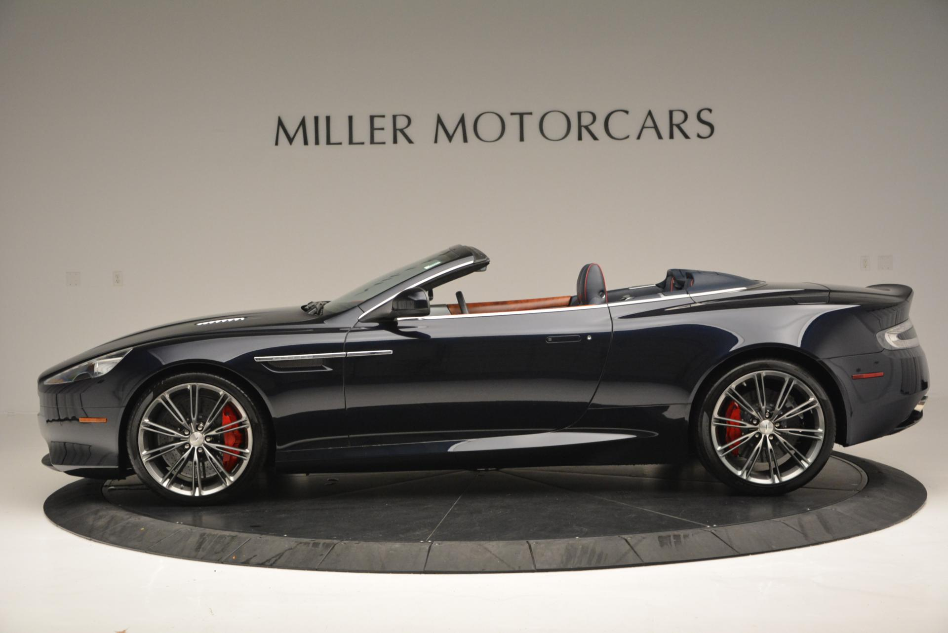 Used 2014 Aston Martin DB9 Volante For Sale In Greenwich, CT 519_p3