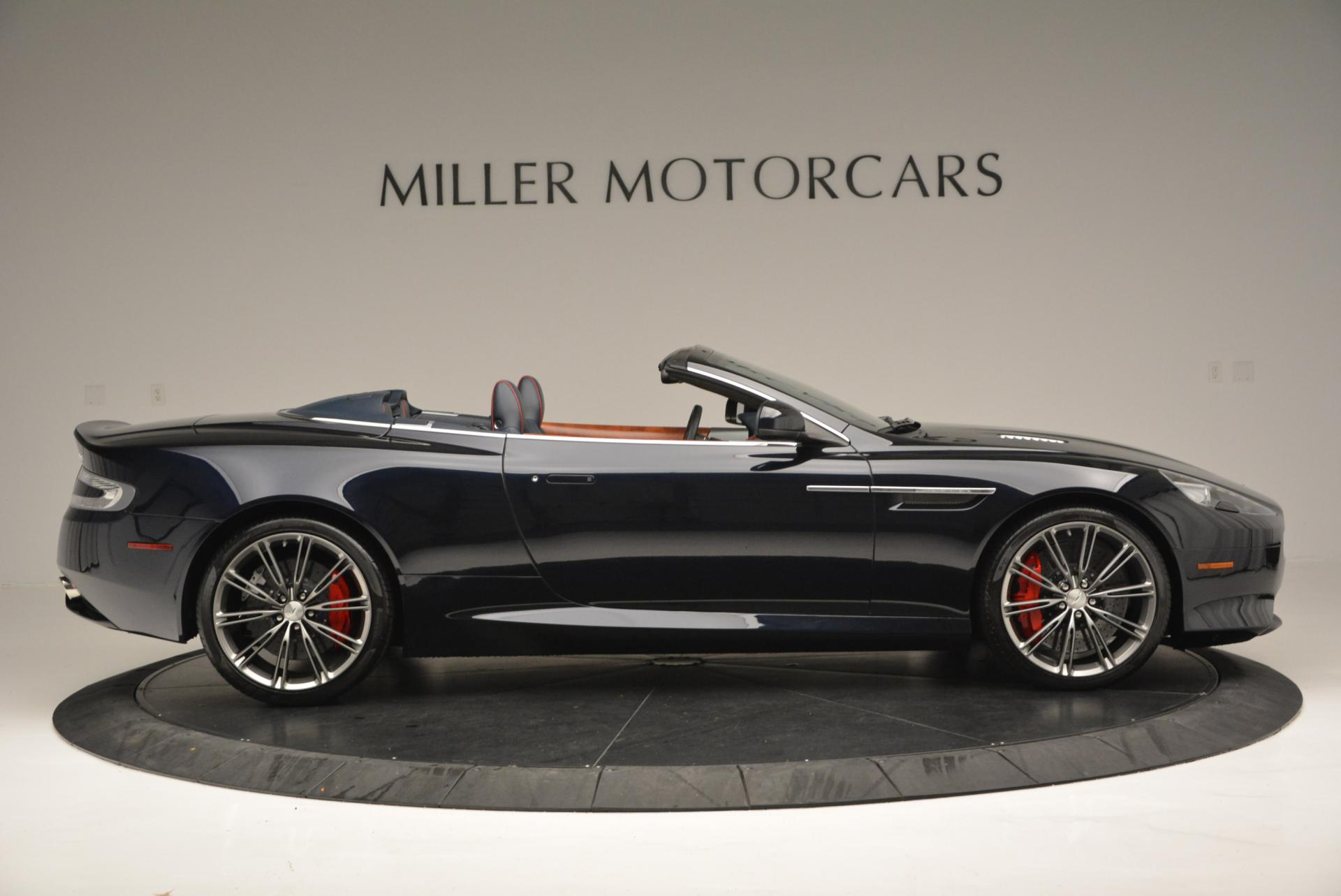 Used 2014 Aston Martin DB9 Volante For Sale In Greenwich, CT 519_p9