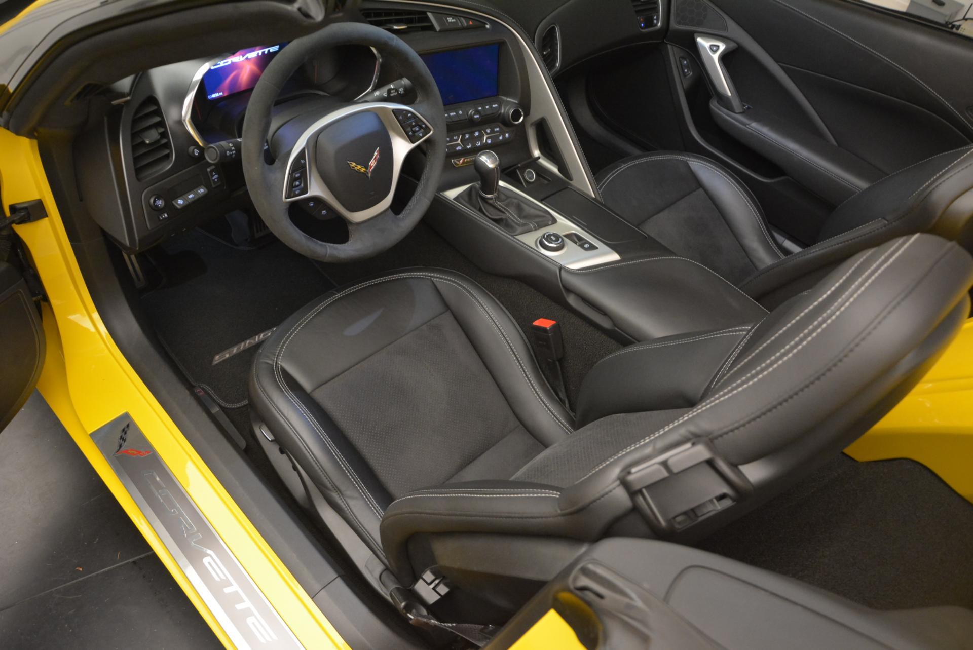 Used 2014 Chevrolet Corvette Stingray Z51 For Sale In Greenwich, CT 523_p13