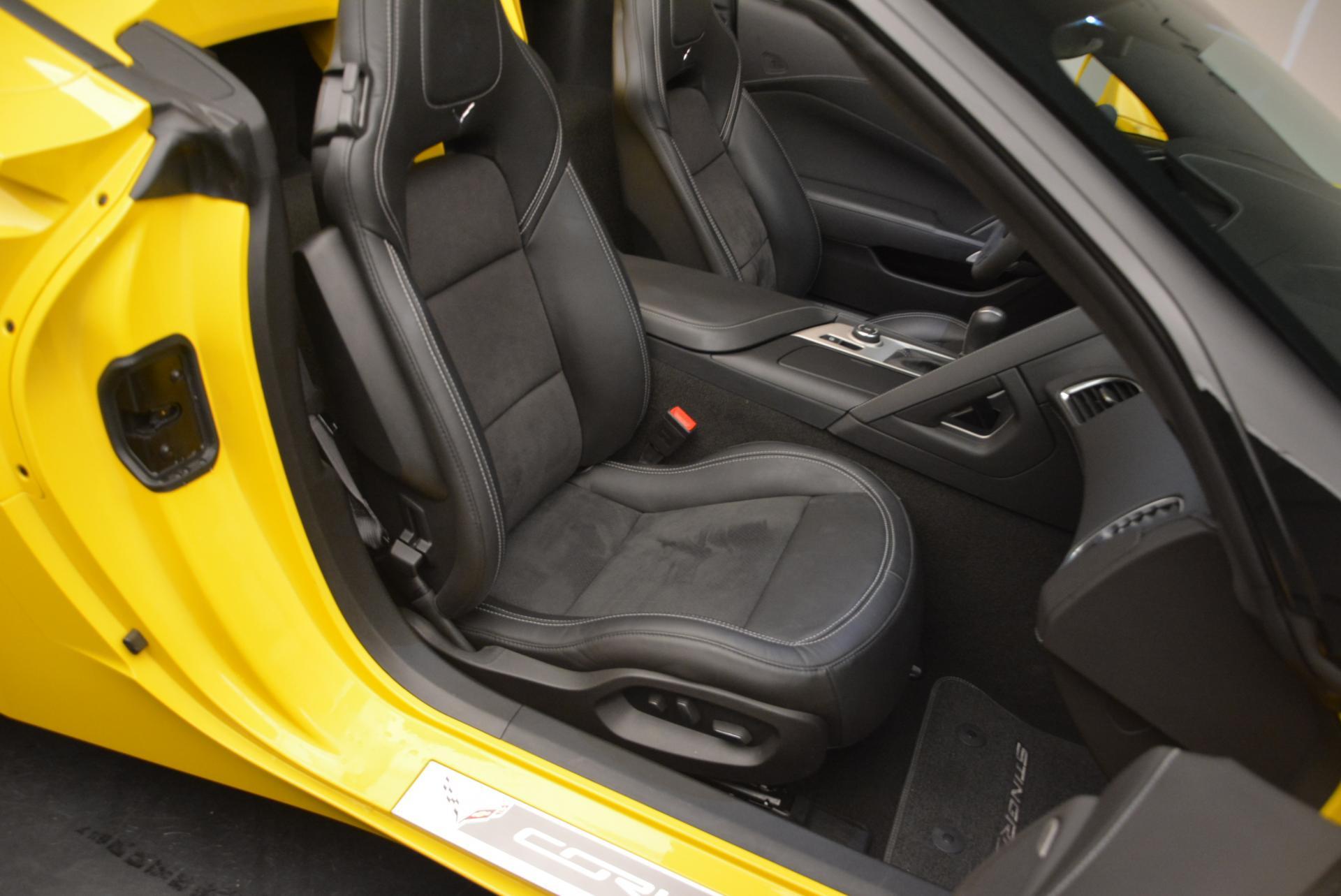 Used 2014 Chevrolet Corvette Stingray Z51 For Sale In Greenwich, CT 523_p20