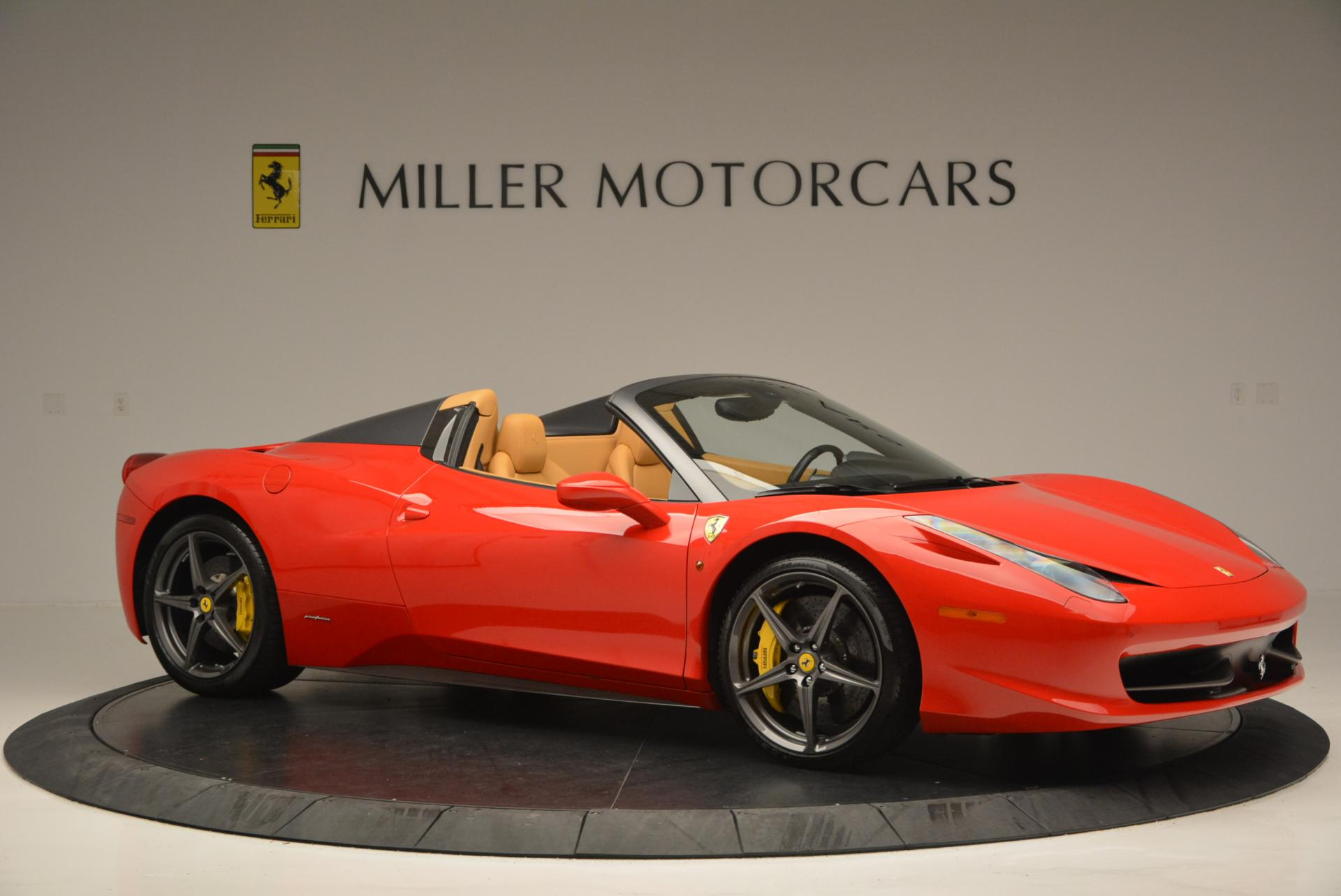 Used 2013 Ferrari 458 Spider  For Sale In Greenwich, CT 537_p10