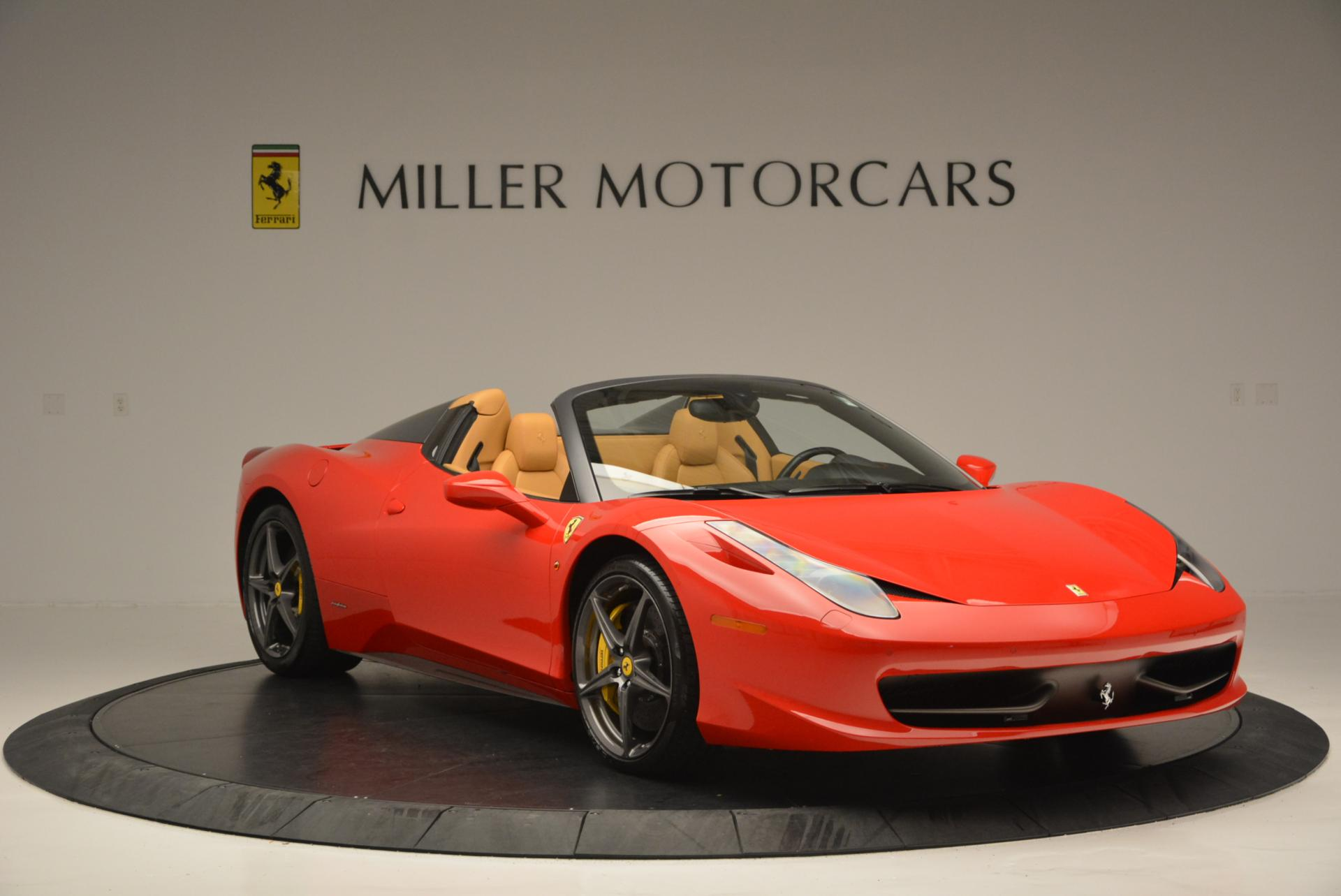 Used 2013 Ferrari 458 Spider  For Sale In Greenwich, CT 537_p11