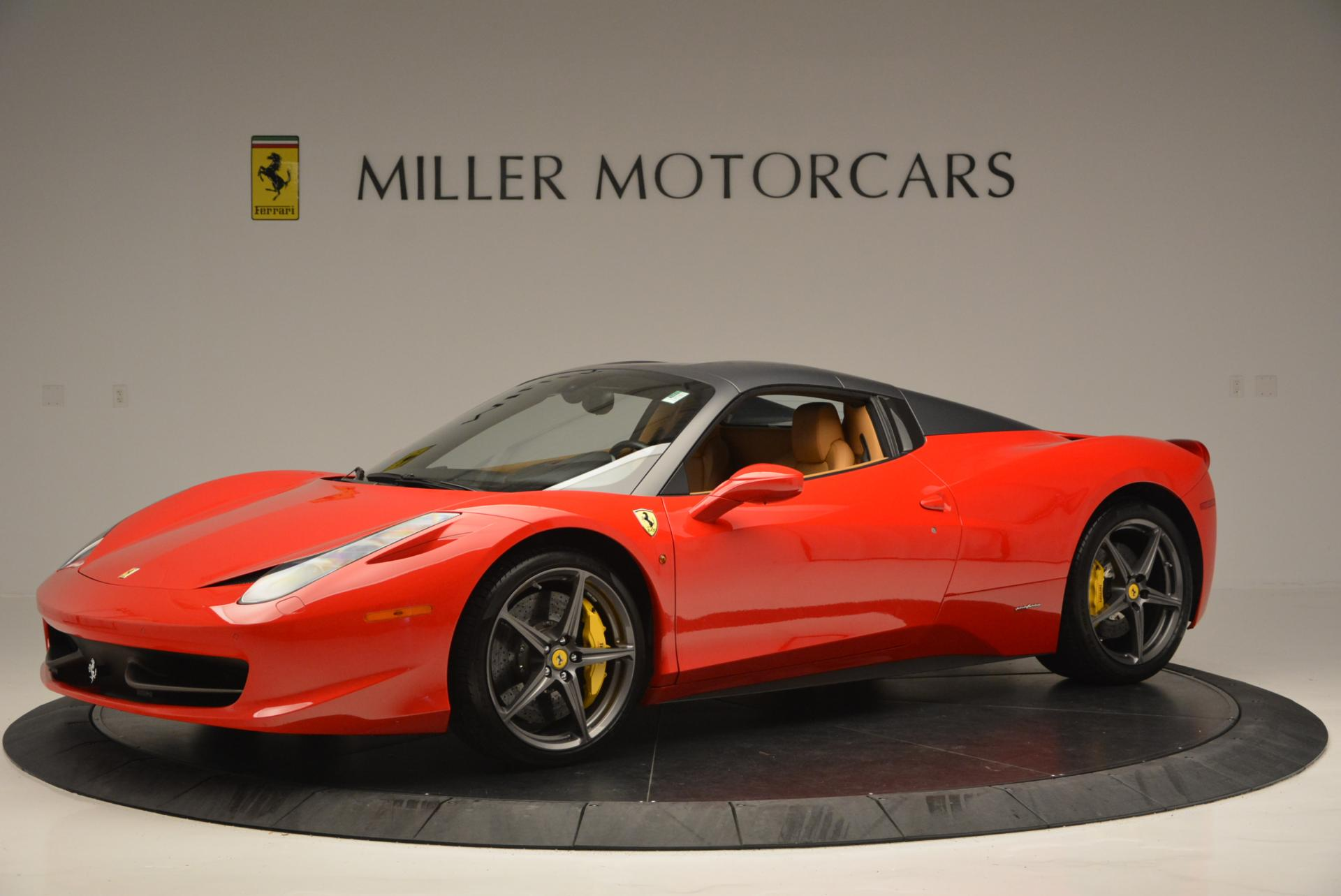 Used 2013 Ferrari 458 Spider  For Sale In Greenwich, CT 537_p14