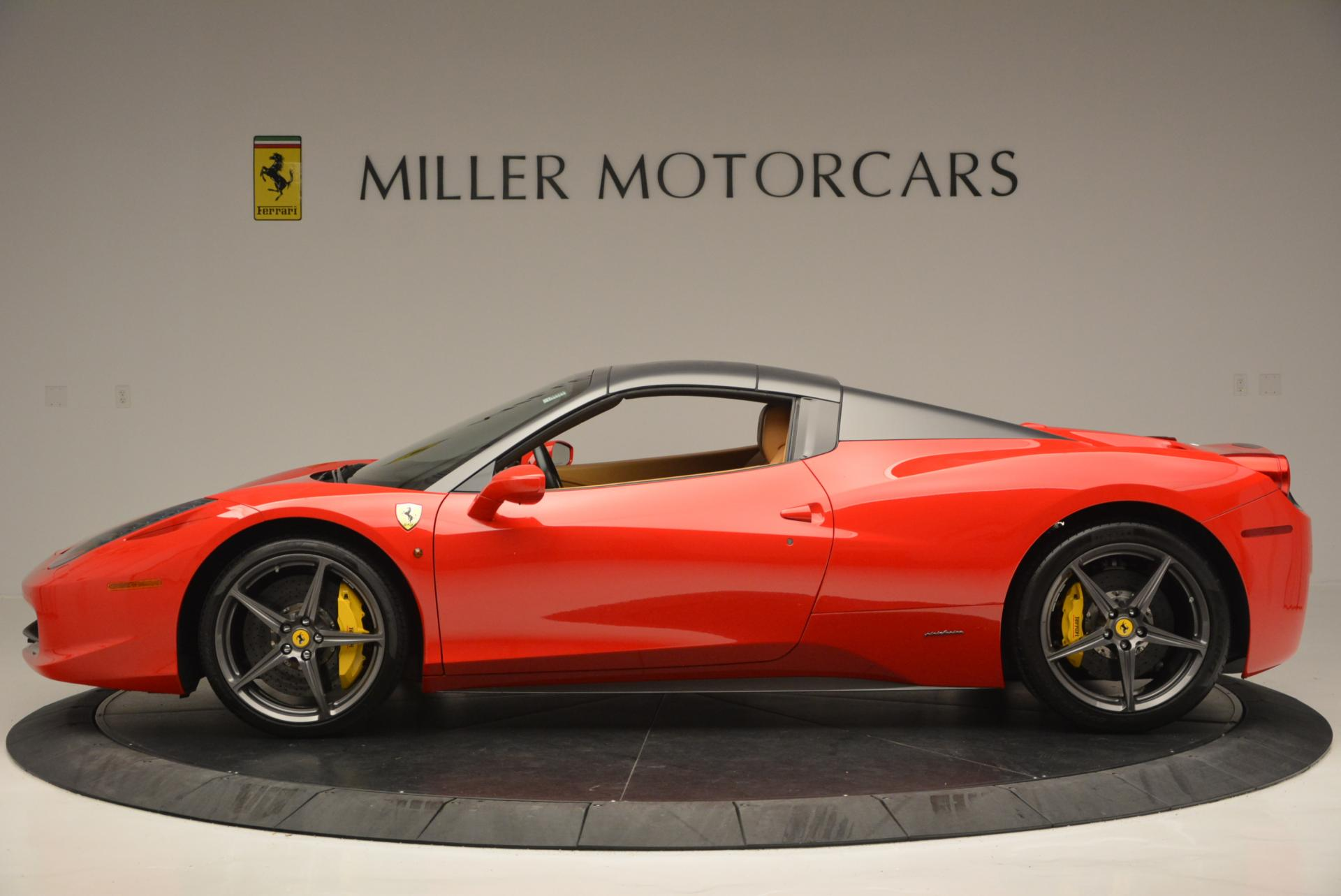 Used 2013 Ferrari 458 Spider  For Sale In Greenwich, CT 537_p15