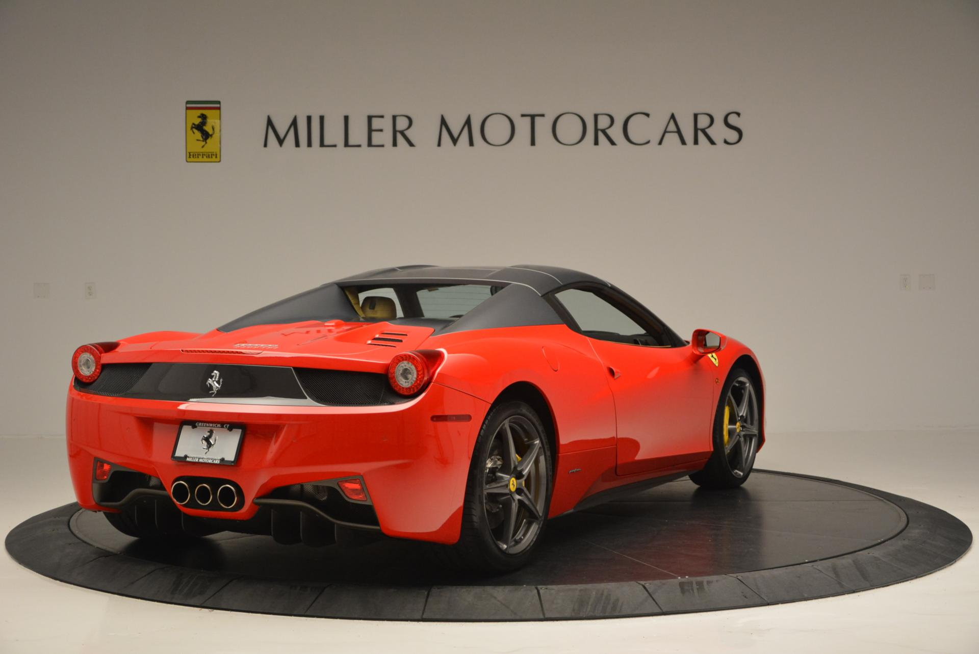 Used 2013 Ferrari 458 Spider  For Sale In Greenwich, CT 537_p19