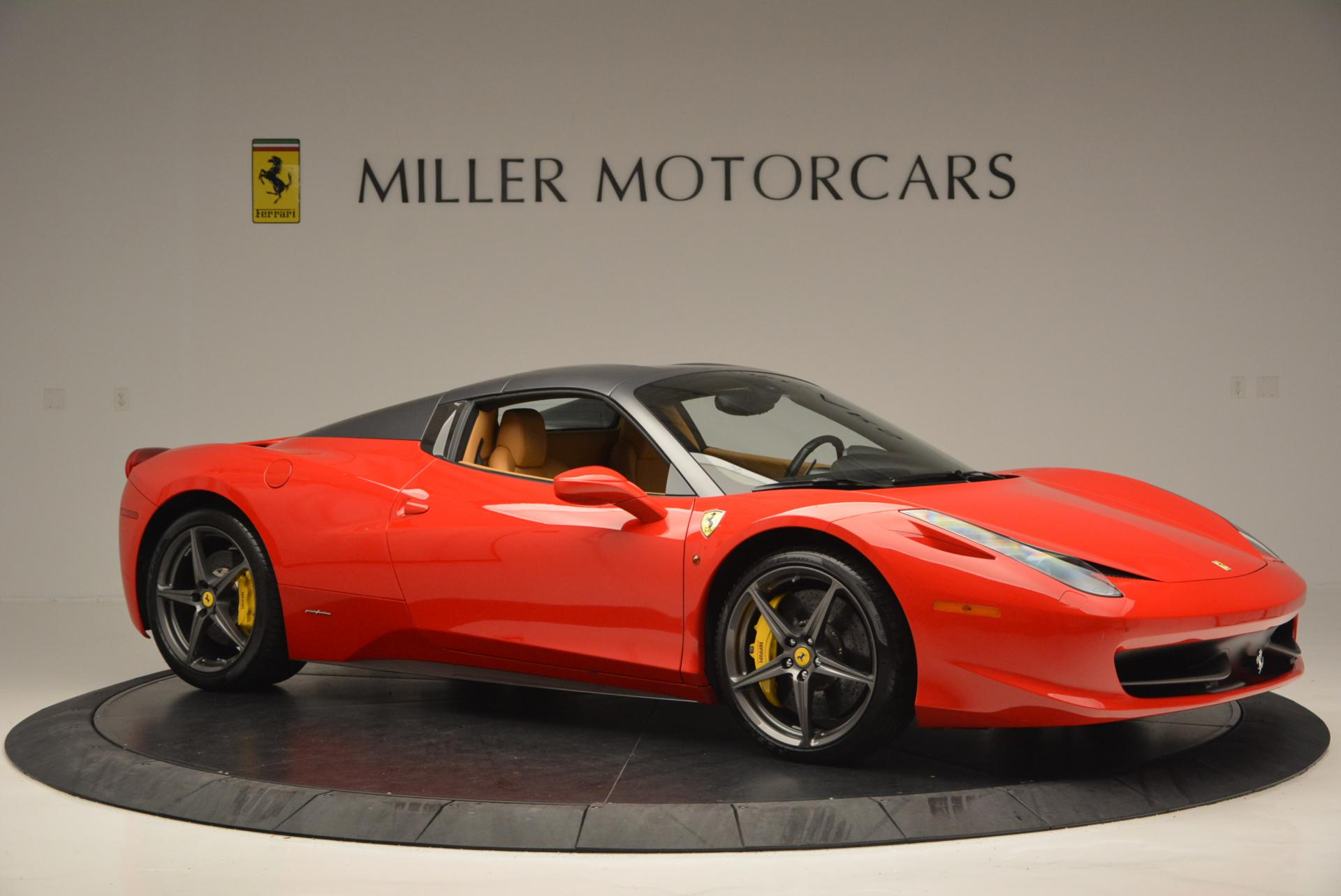 Used 2013 Ferrari 458 Spider  For Sale In Greenwich, CT 537_p22