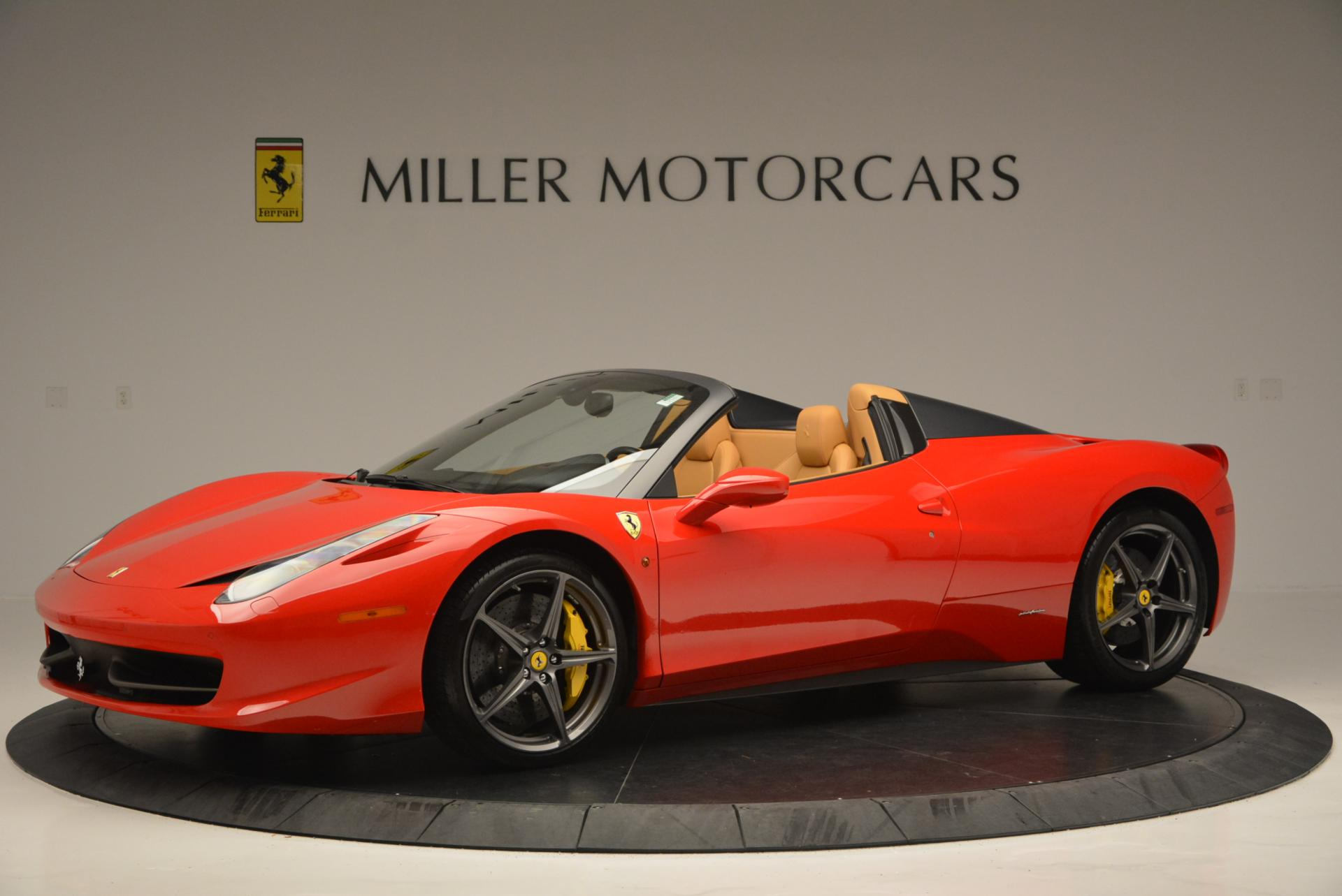 Used 2013 Ferrari 458 Spider  For Sale In Greenwich, CT 537_p2