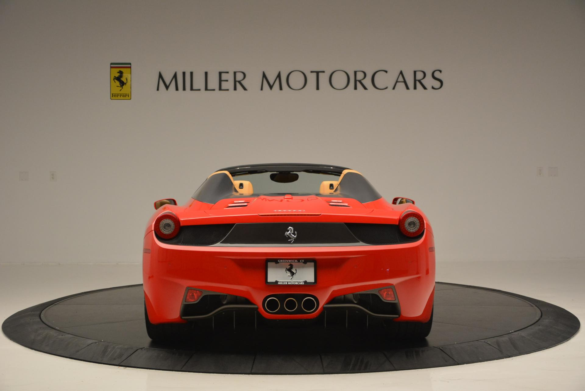 Used 2013 Ferrari 458 Spider  For Sale In Greenwich, CT 537_p6