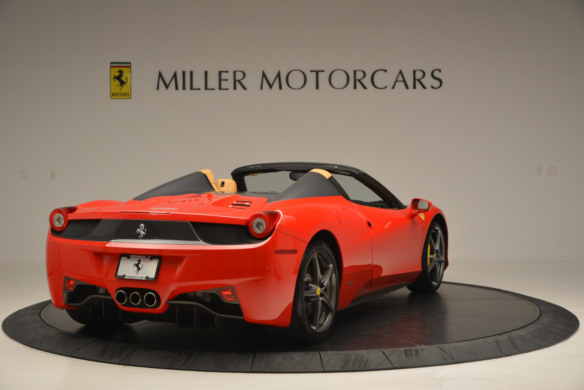 Used 2013 Ferrari 458 Spider  For Sale In Greenwich, CT 537_p7