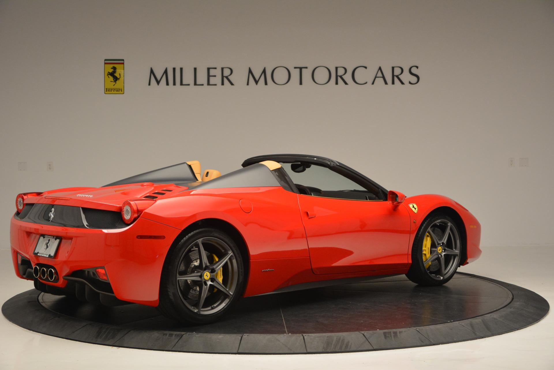 Used 2013 Ferrari 458 Spider  For Sale In Greenwich, CT 537_p8