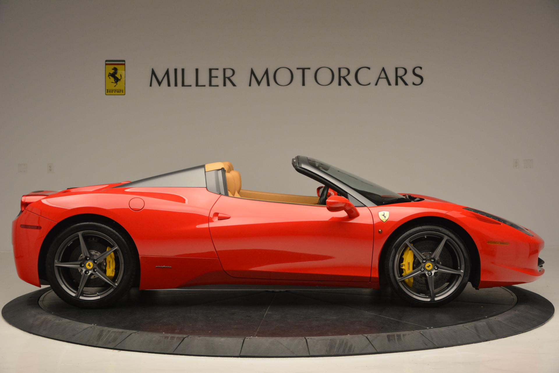 Used 2013 Ferrari 458 Spider  For Sale In Greenwich, CT 537_p9