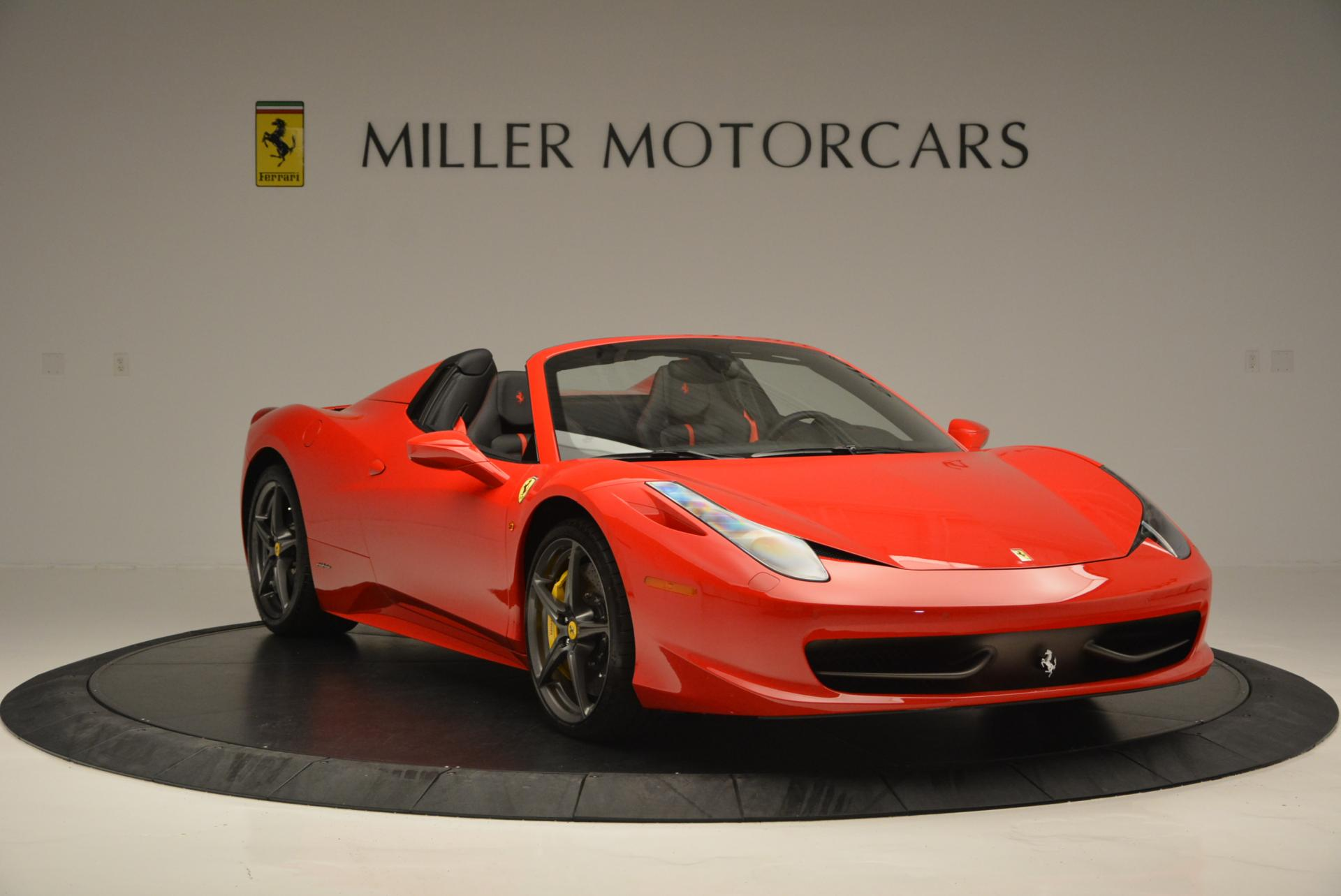 Used 2015 Ferrari 458 Spider  For Sale In Greenwich, CT 542_p11
