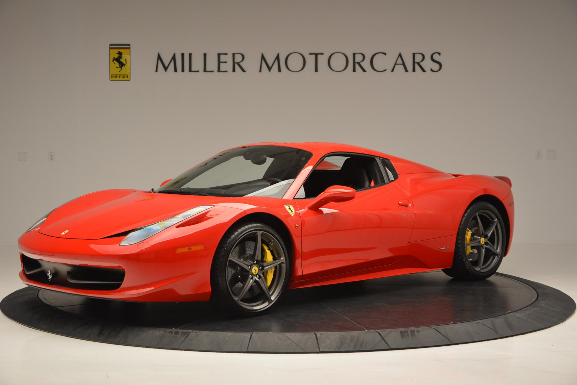 Used 2015 Ferrari 458 Spider  For Sale In Greenwich, CT 542_p14