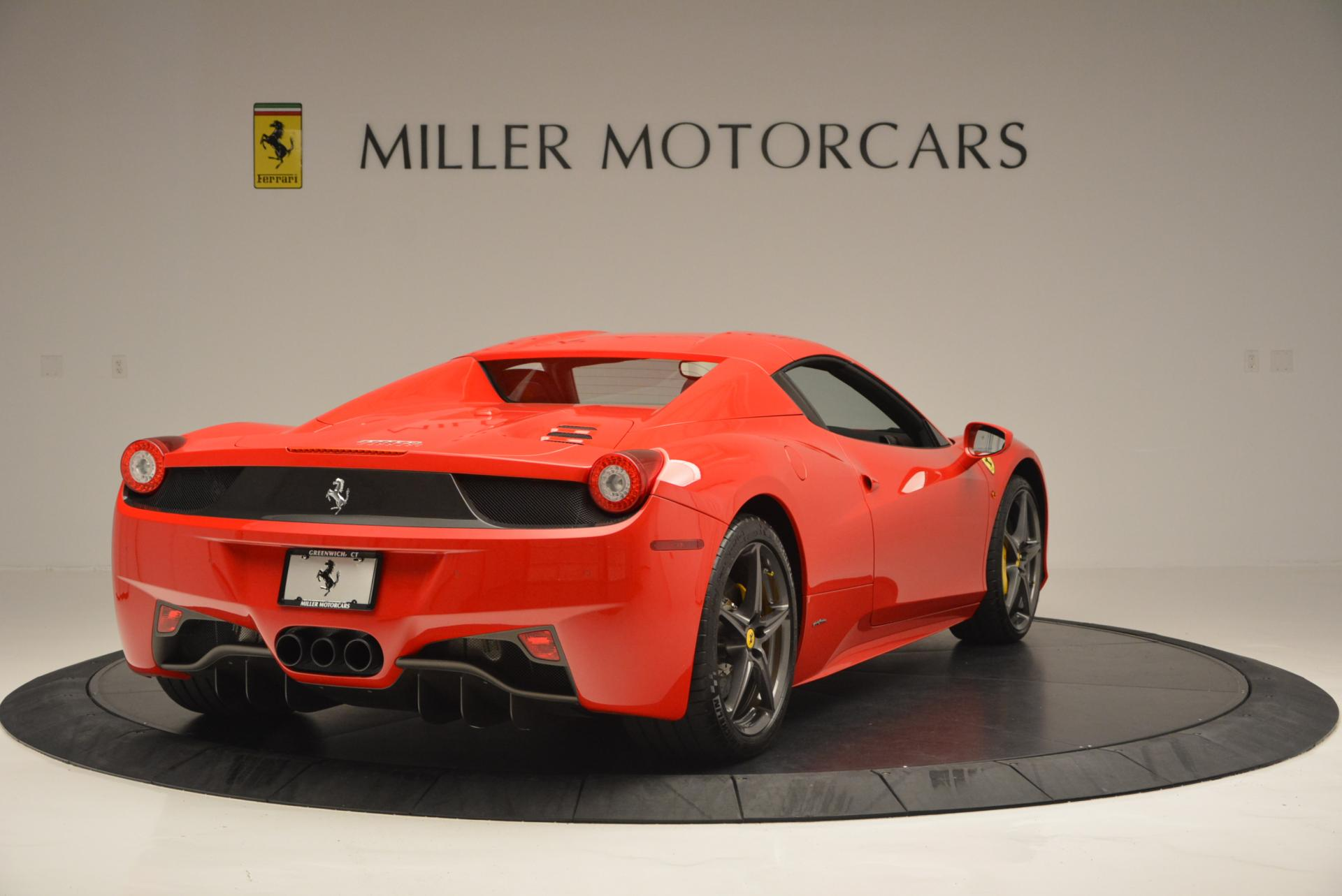 Used 2015 Ferrari 458 Spider  For Sale In Greenwich, CT 542_p19