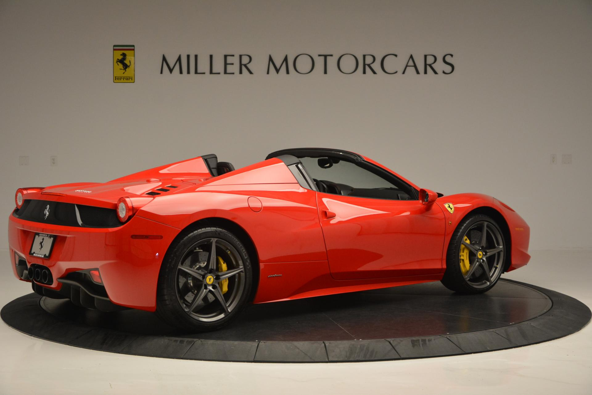 Used 2015 Ferrari 458 Spider  For Sale In Greenwich, CT 542_p8