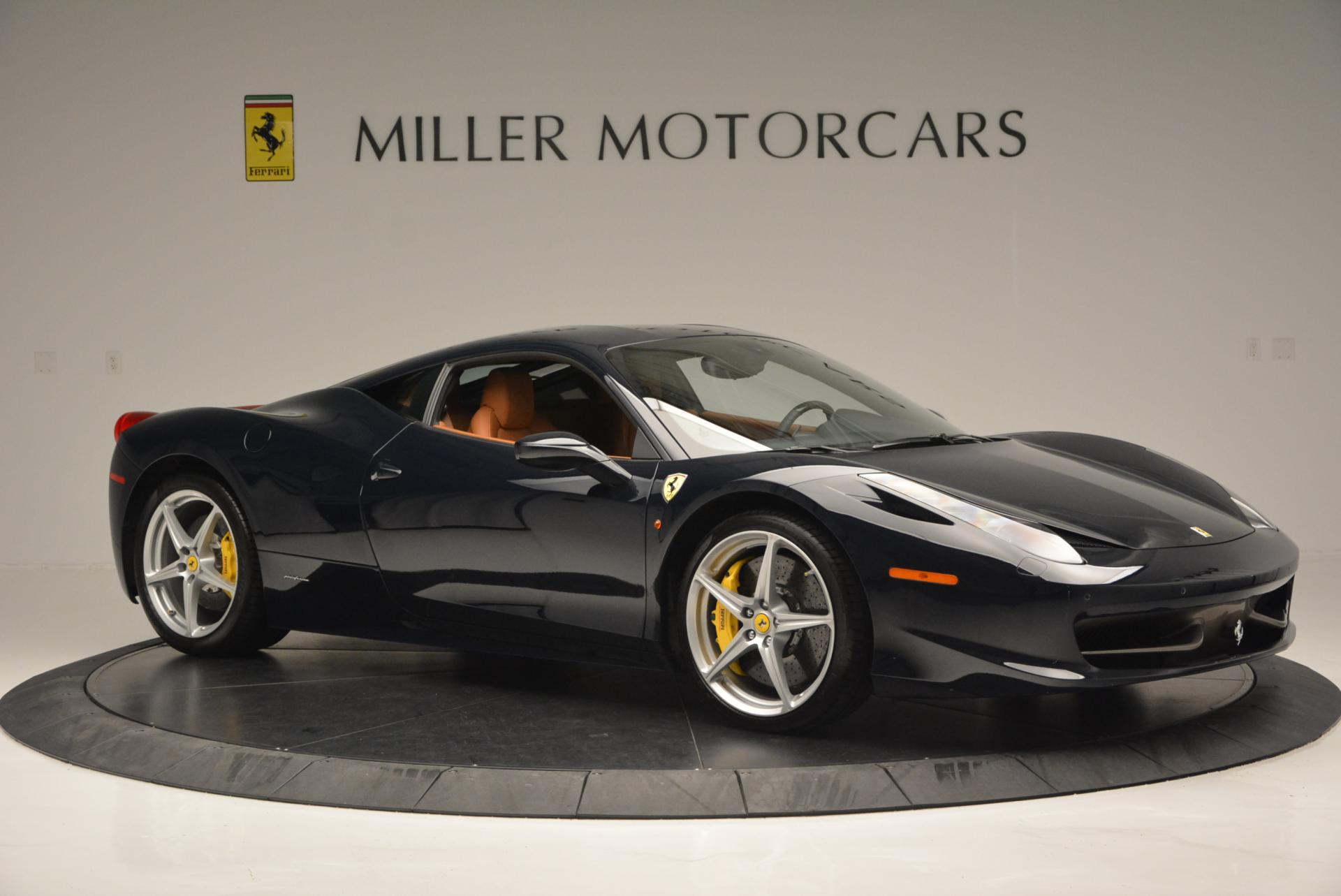 Used 2010 Ferrari 458 Italia  For Sale In Greenwich, CT 543_p10