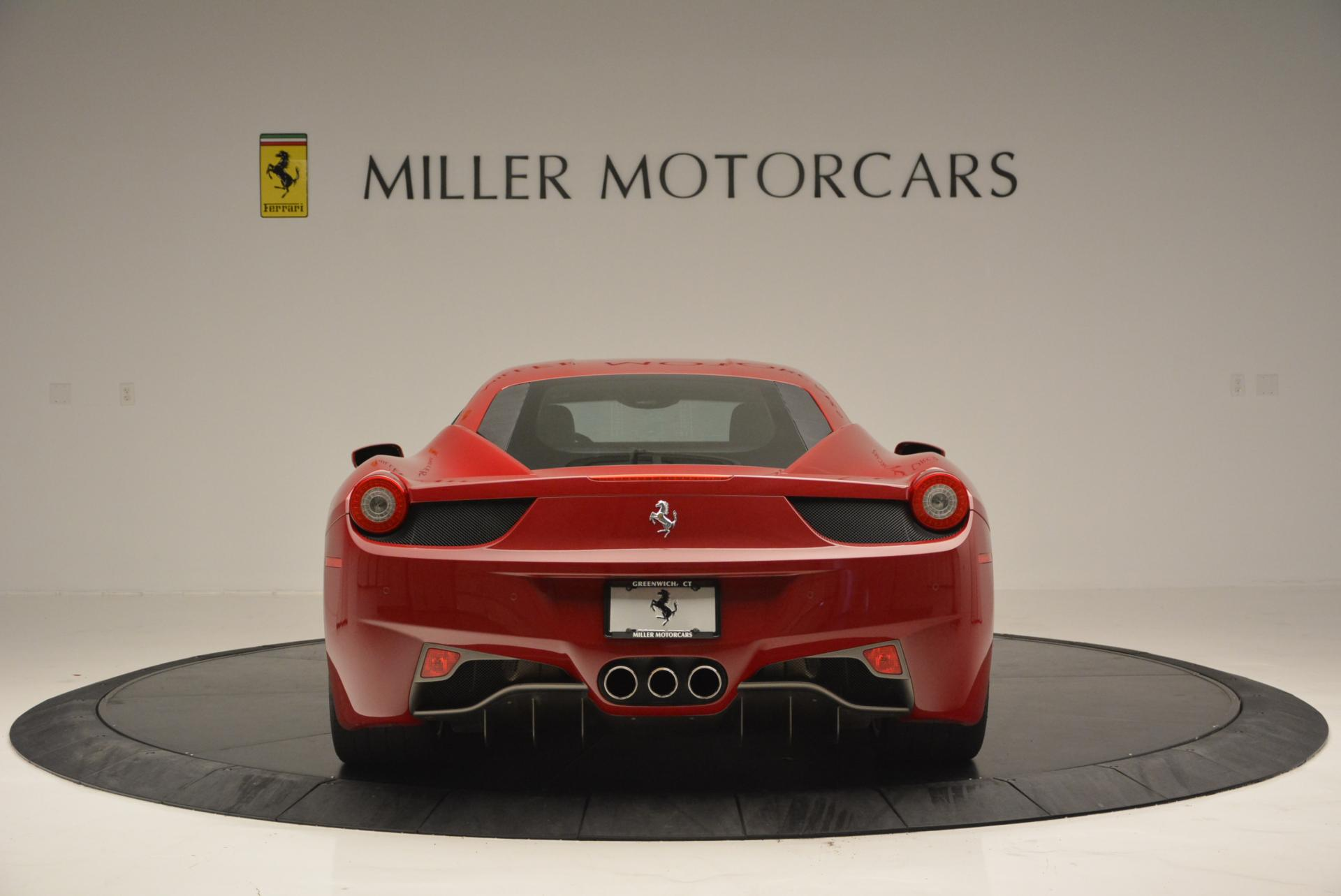 Used 2011 Ferrari 458 Italia  For Sale In Greenwich, CT 551_p6
