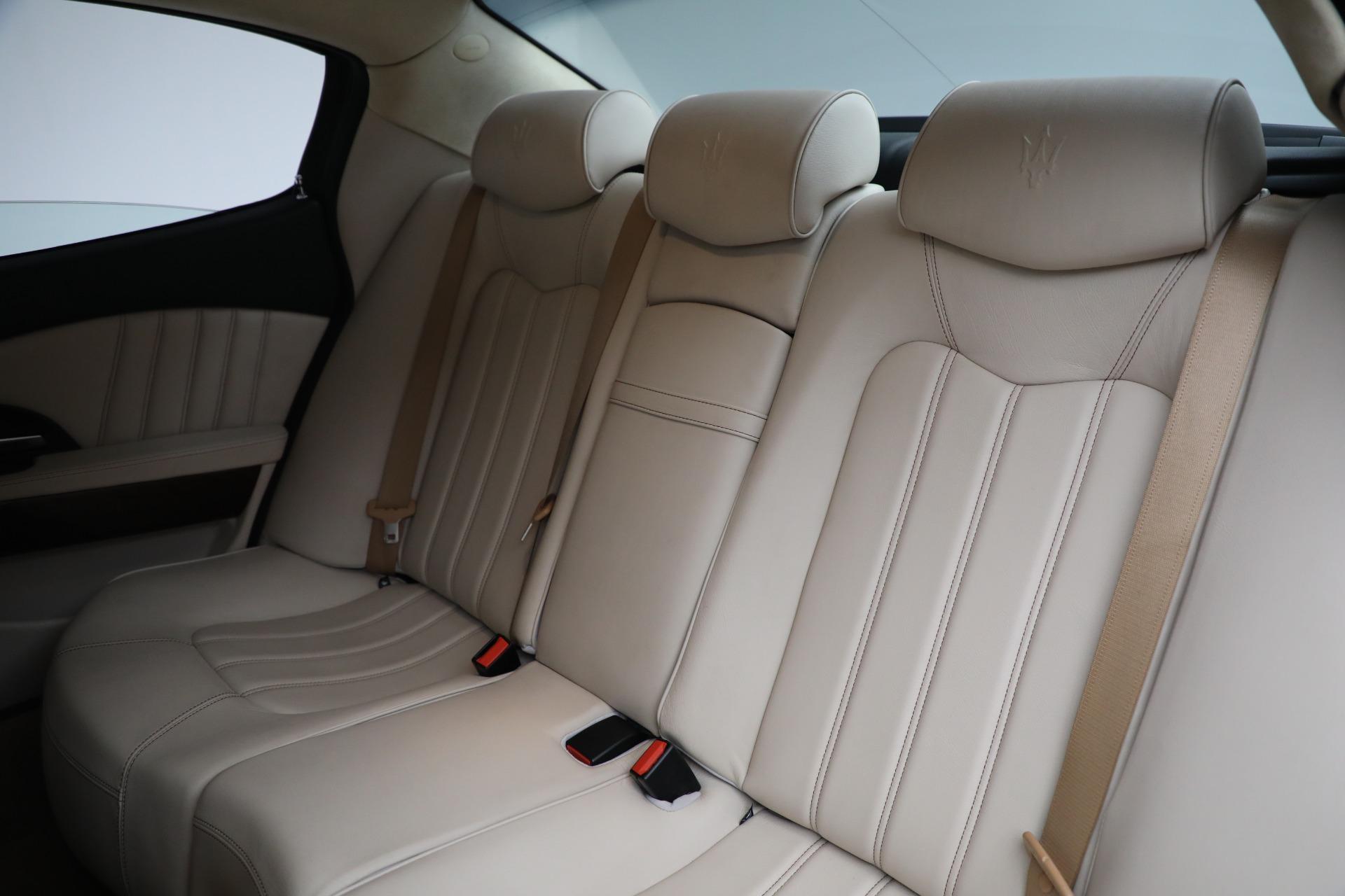 Used 2011 Maserati Quattroporte  For Sale In Greenwich, CT 552_p20