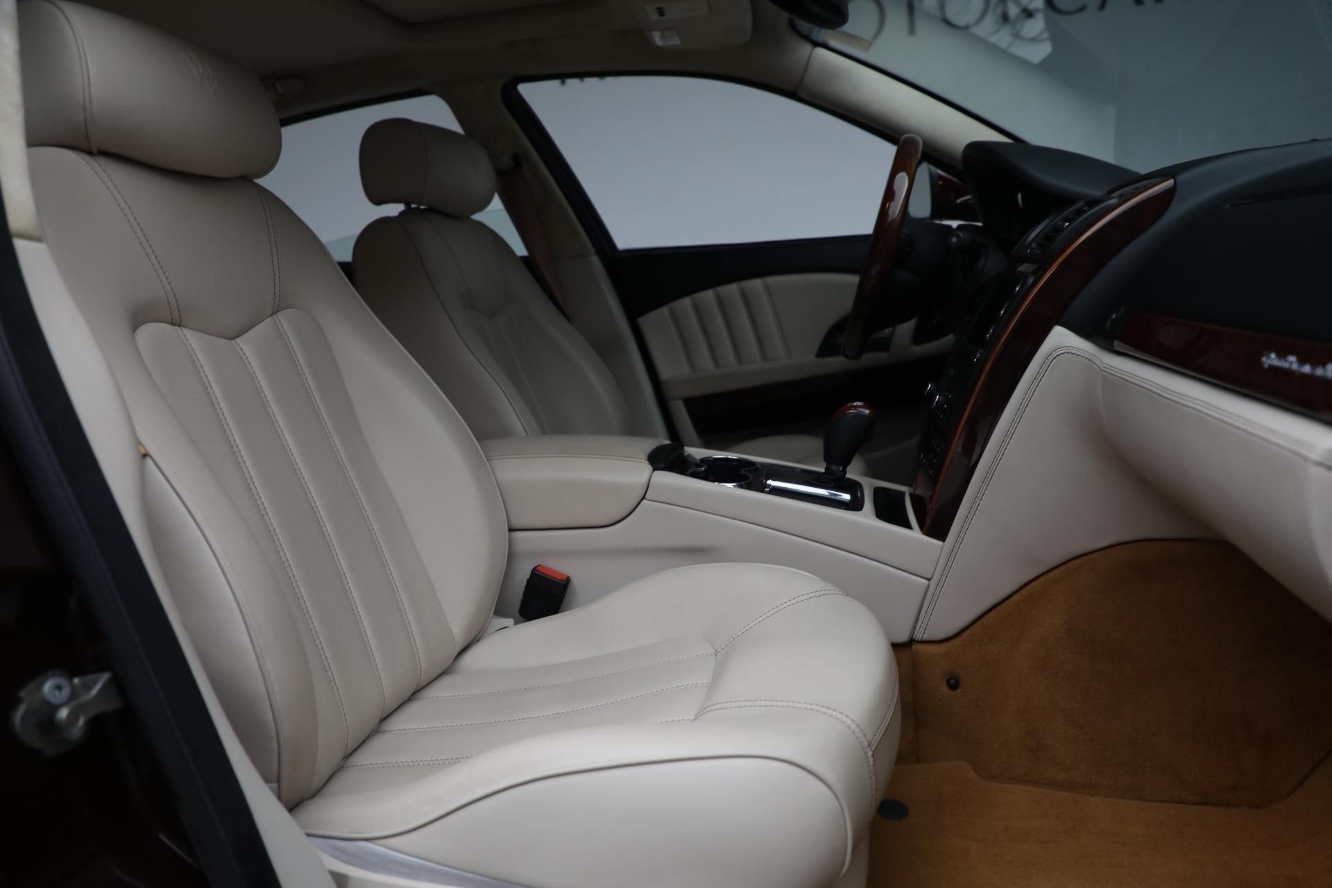 Used 2011 Maserati Quattroporte  For Sale In Greenwich, CT 552_p23