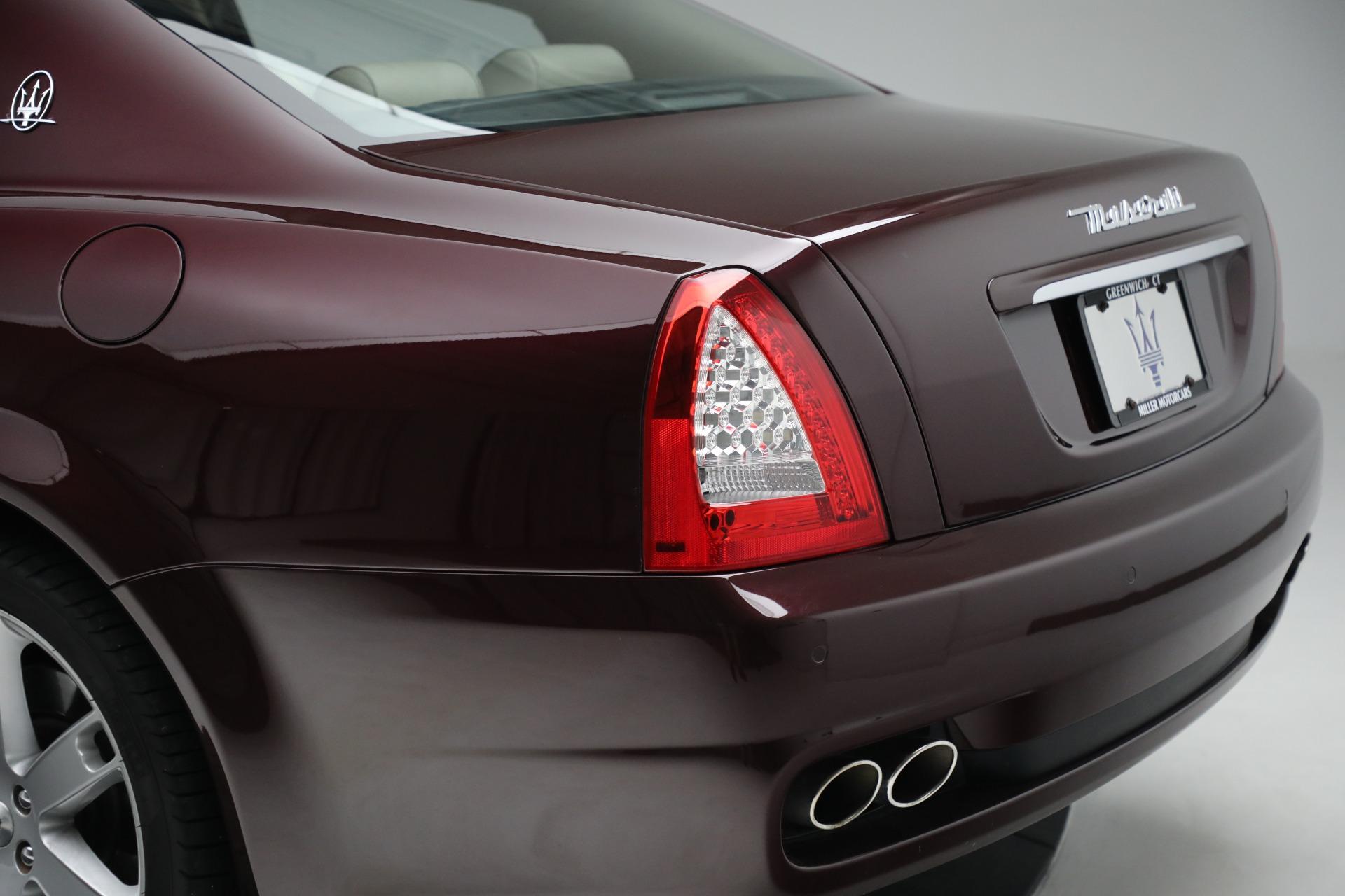 Used 2011 Maserati Quattroporte  For Sale In Greenwich, CT 552_p25