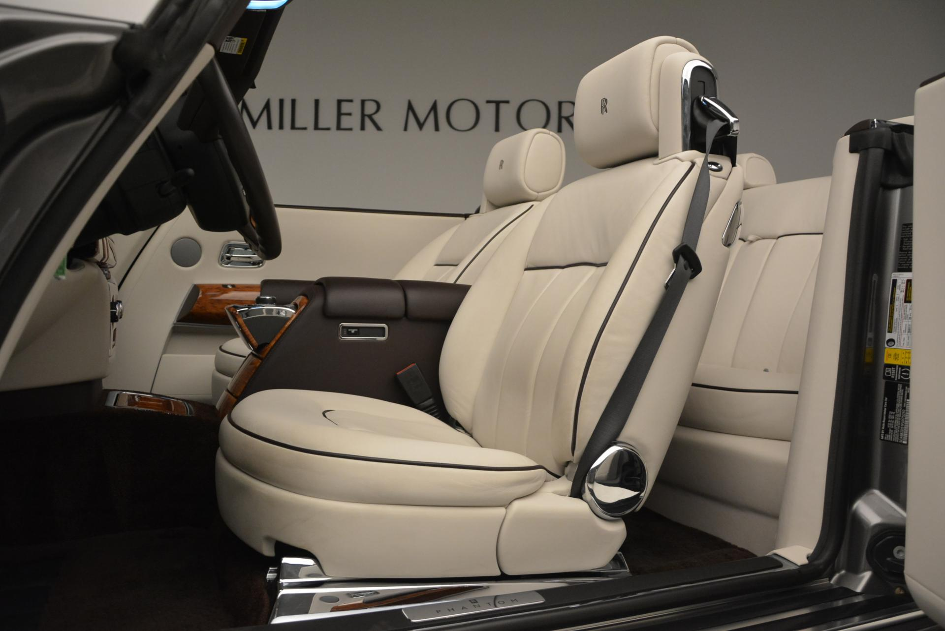 Used 2015 Rolls-Royce Phantom Drophead Coupe  For Sale In Greenwich, CT 554_p26