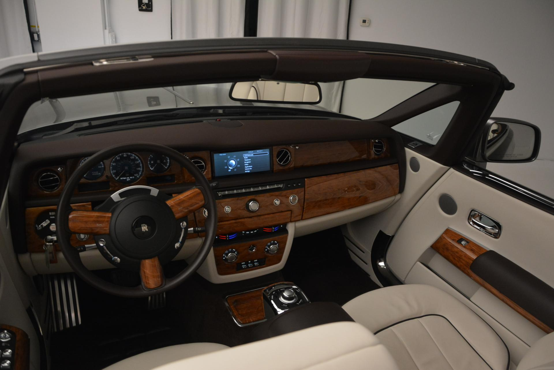 Used 2015 Rolls-Royce Phantom Drophead Coupe  For Sale In Greenwich, CT 554_p29