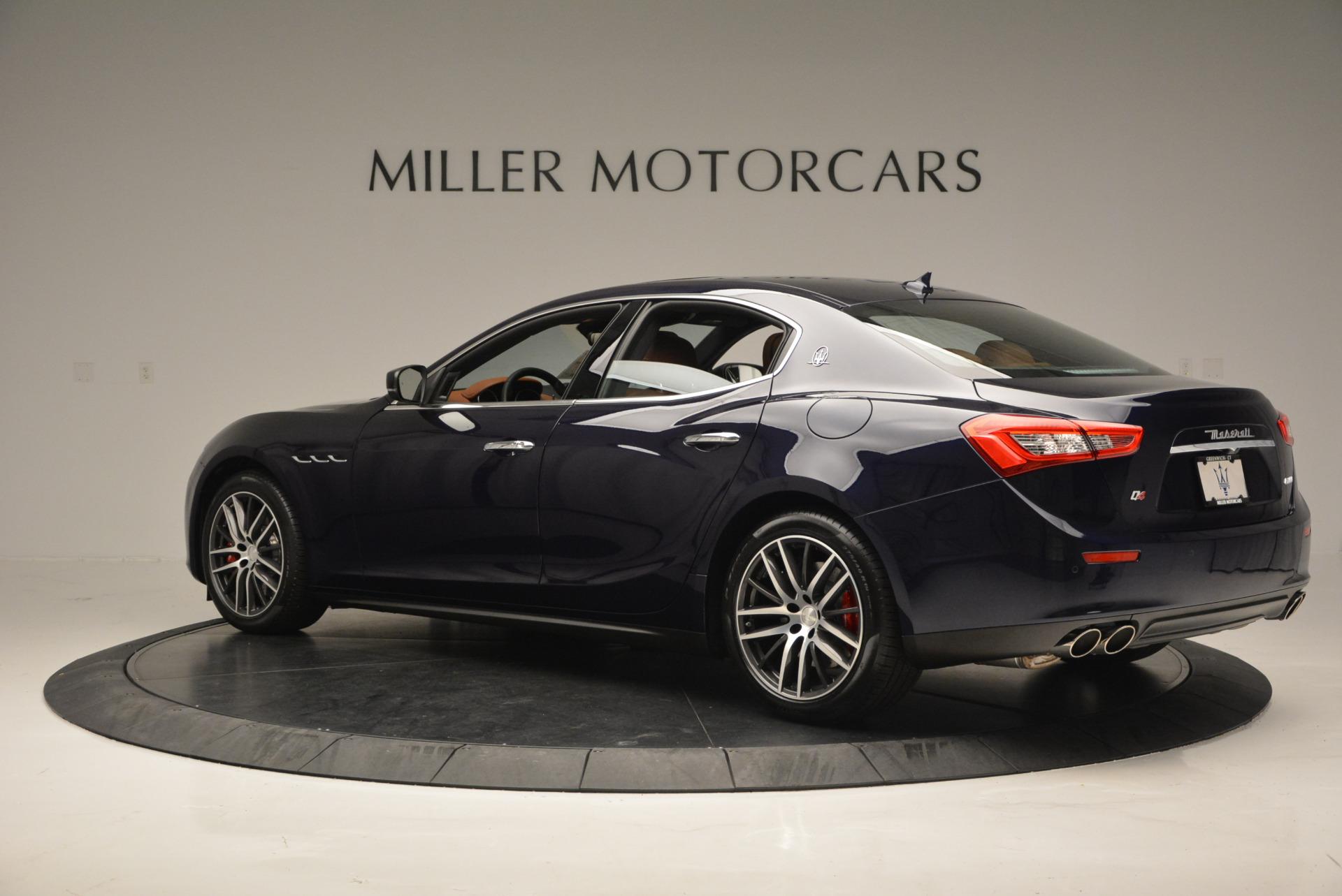 Used 2017 Maserati Ghibli S Q4 - EX Loaner For Sale In Greenwich, CT 567_p4