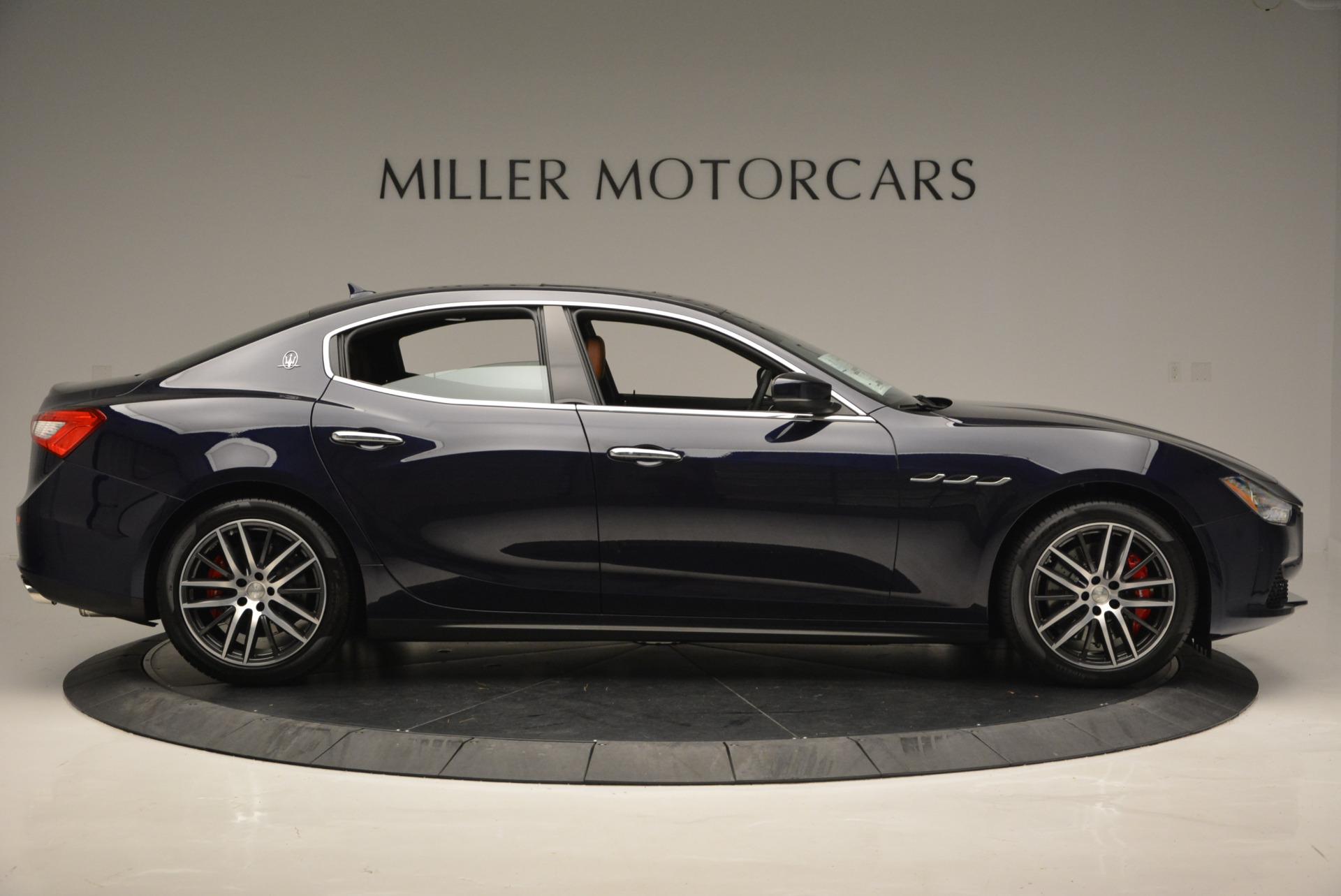 Used 2017 Maserati Ghibli S Q4 - EX Loaner For Sale In Greenwich, CT 567_p9